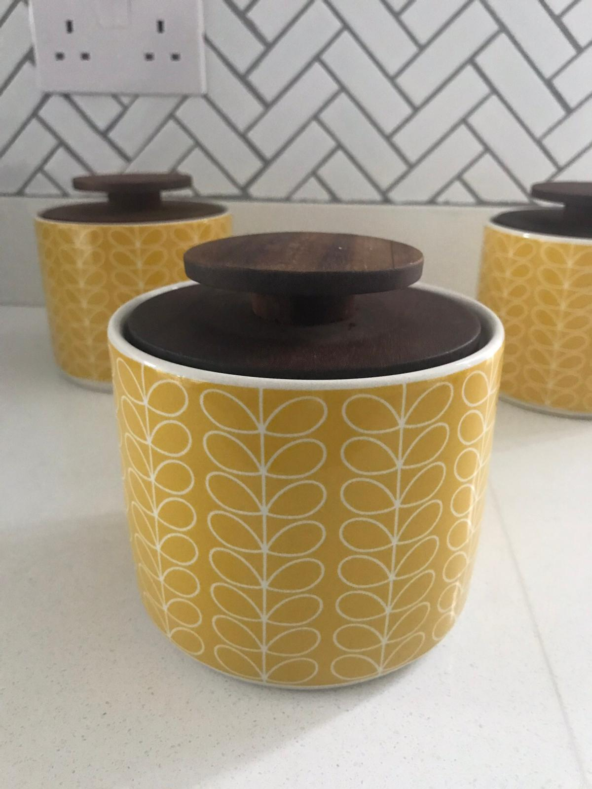 John Lewis Orla Kiely Ceramic Jars In De3 Derby For 2000