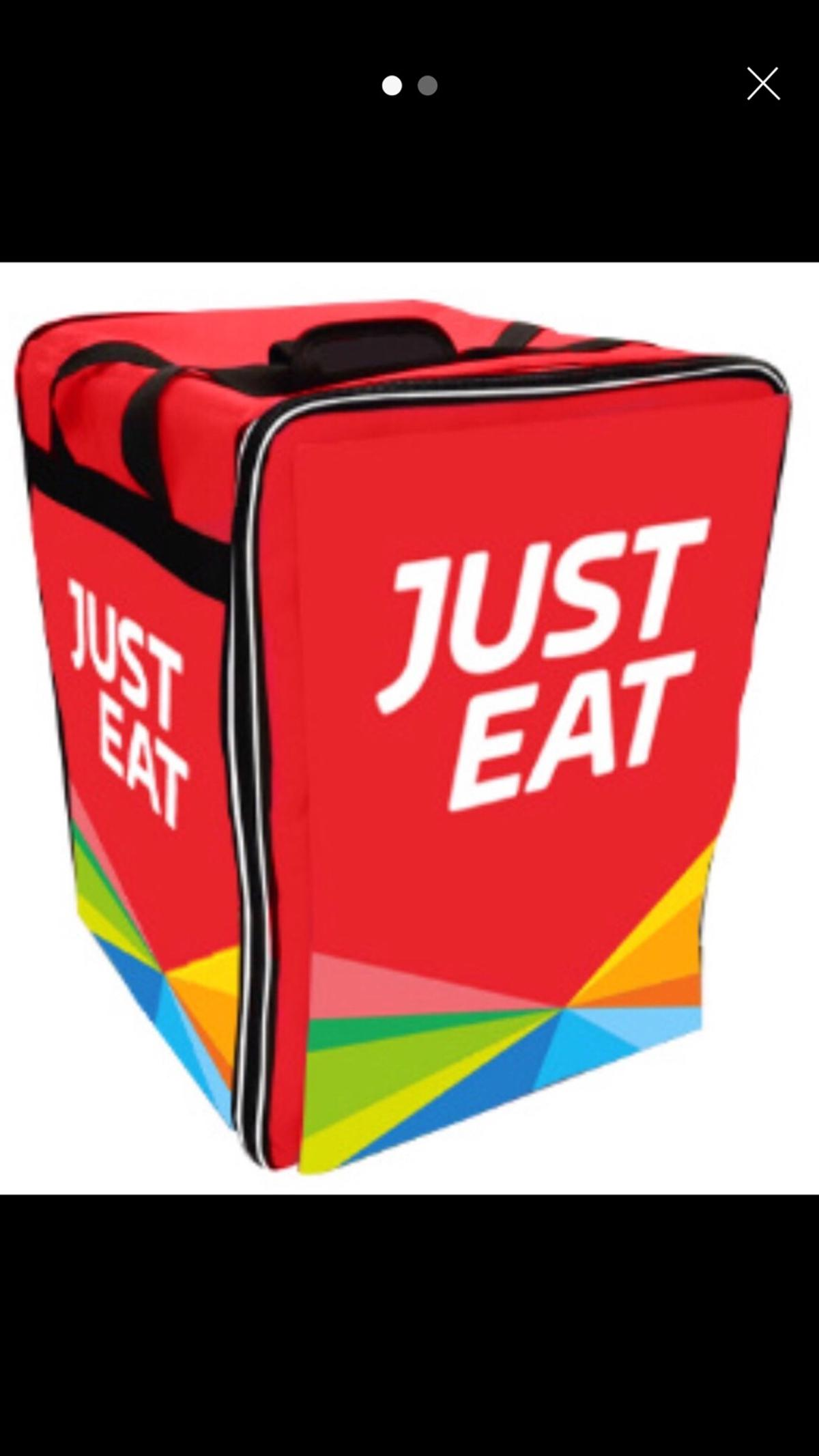 Just Eat Thermal Delivery Bag In Sk4 Stockport For 1200