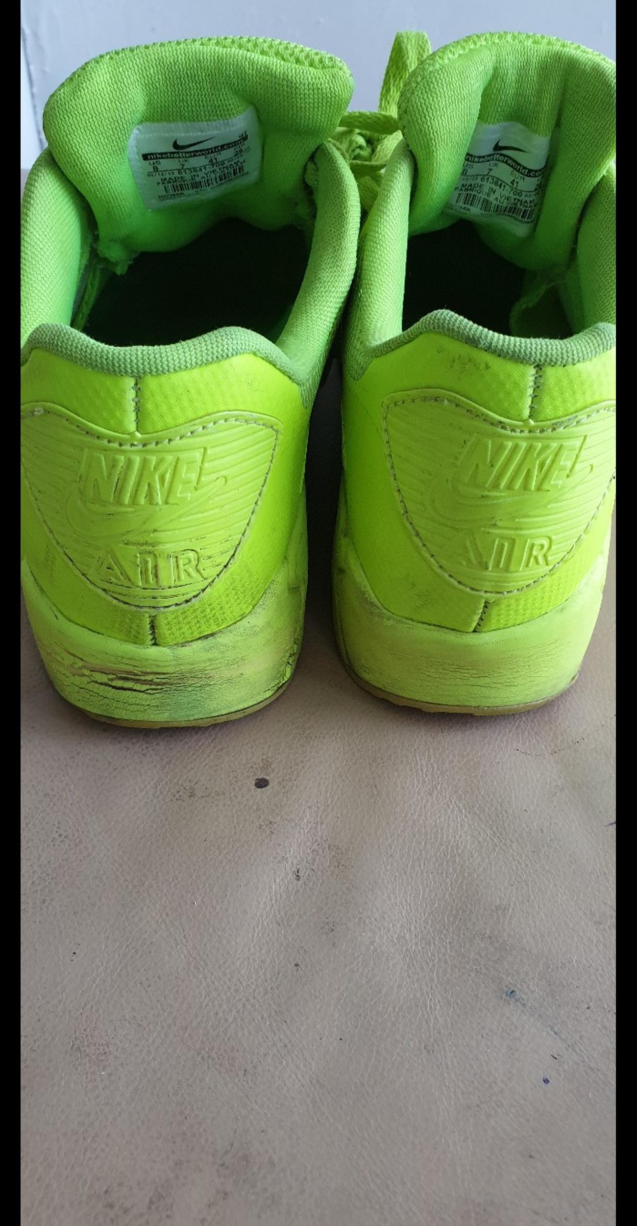 MENS NIKE AIR MAX 90 HYPERFUSE TRAINERS UK 7 in SW9 London