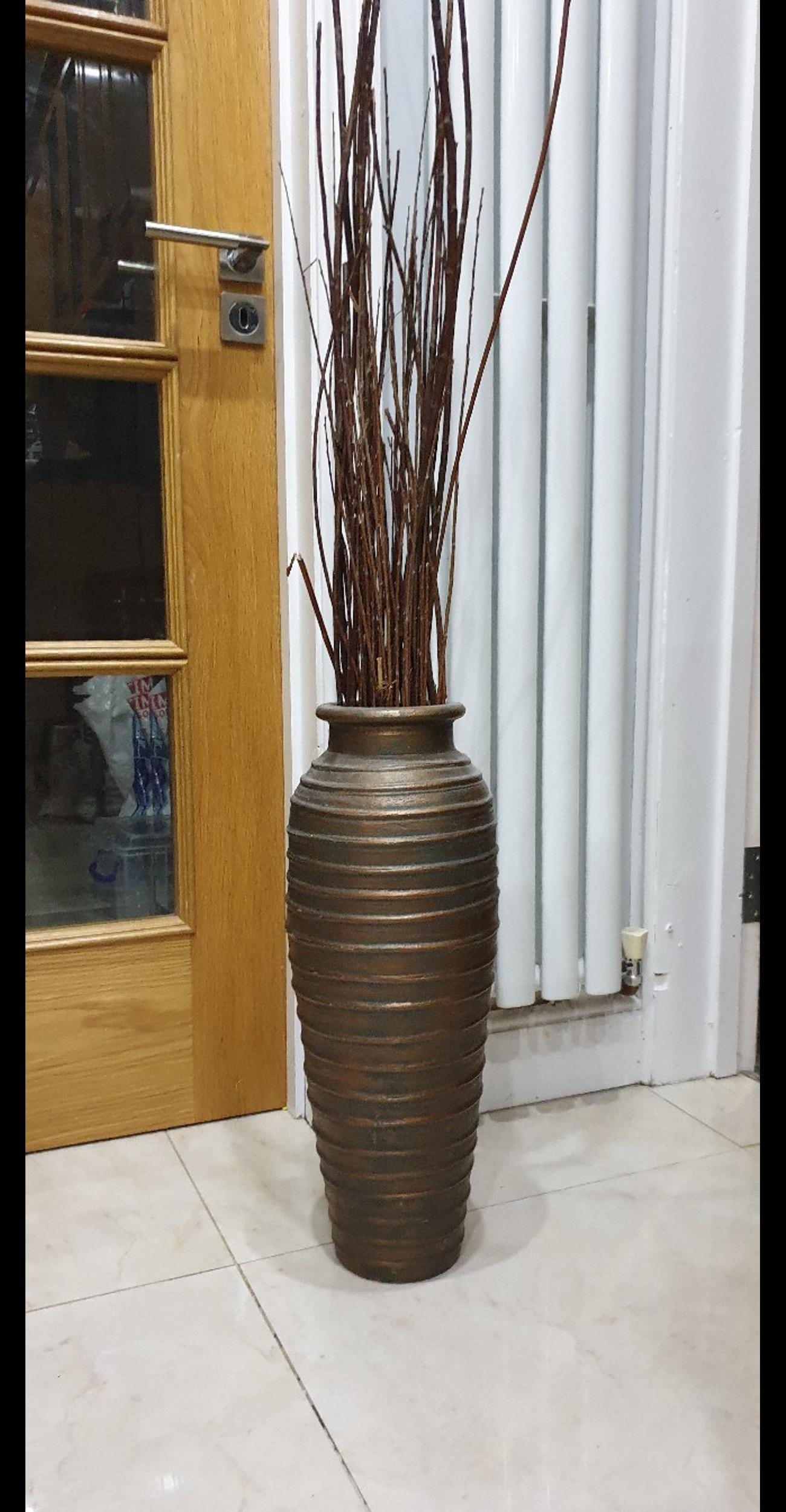Dunelm Floor Standing Tall Vase Wow In Britwell For 16 00 For