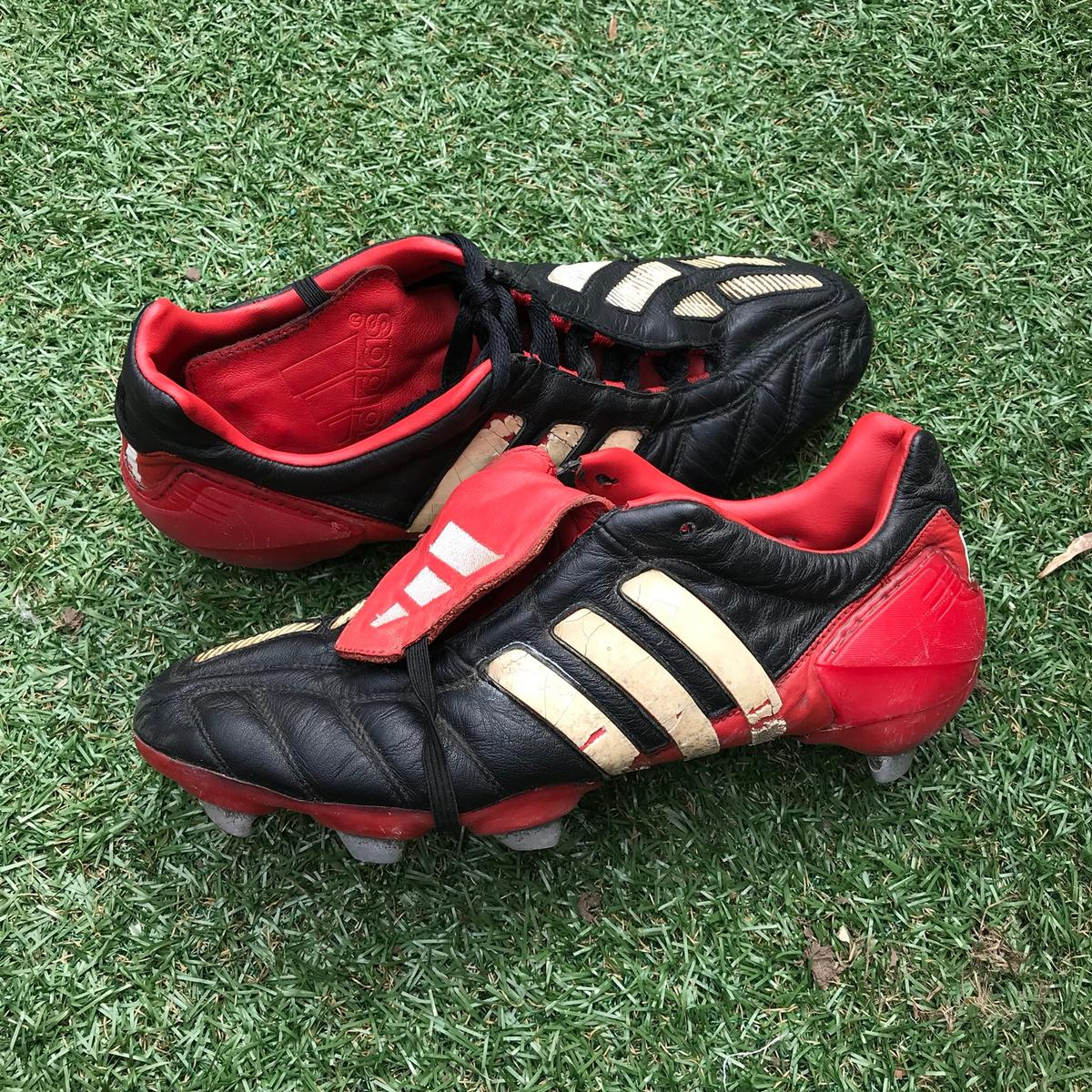 Adidas predator mania 2002 World Cup boot in L35 Helens for