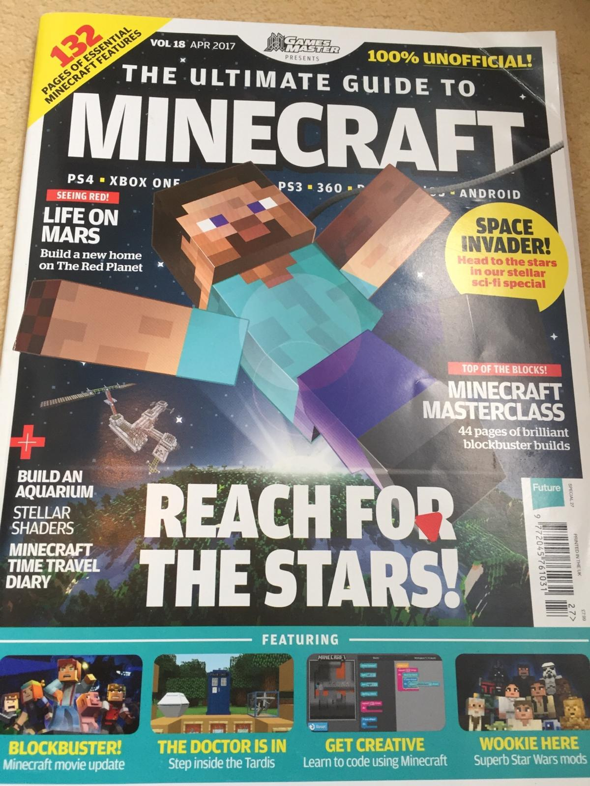 Minecraft Bundle in S26 Rotherham for £2 50 for sale - Shpock