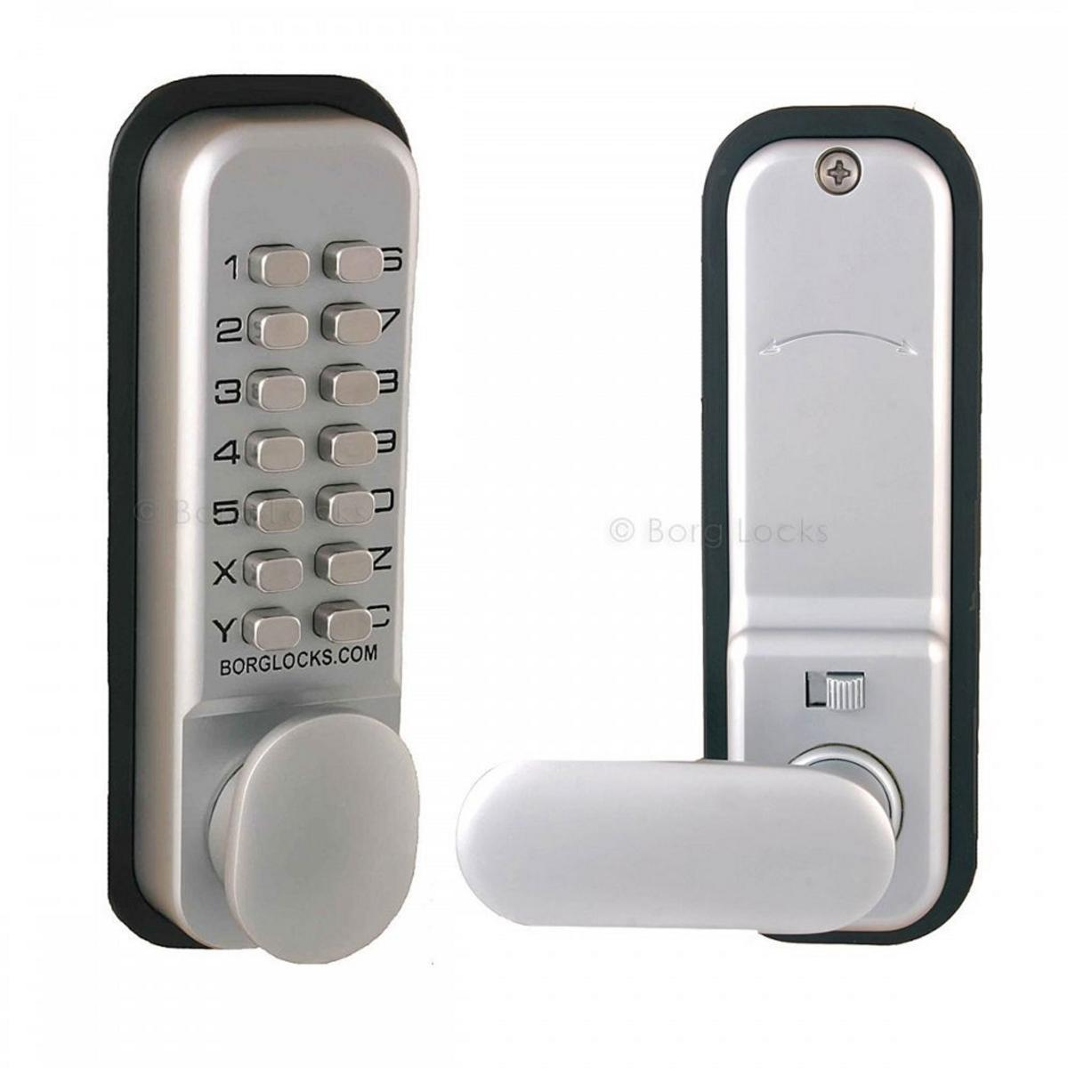 Borg 2201 Digital Push Button Door Lock