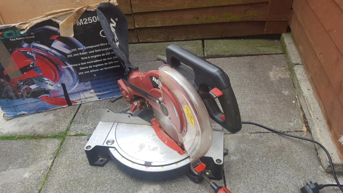Groovy Rexon Compound Mitre Saw Spares Or Repair In Ne28 Tyneside Gmtry Best Dining Table And Chair Ideas Images Gmtryco