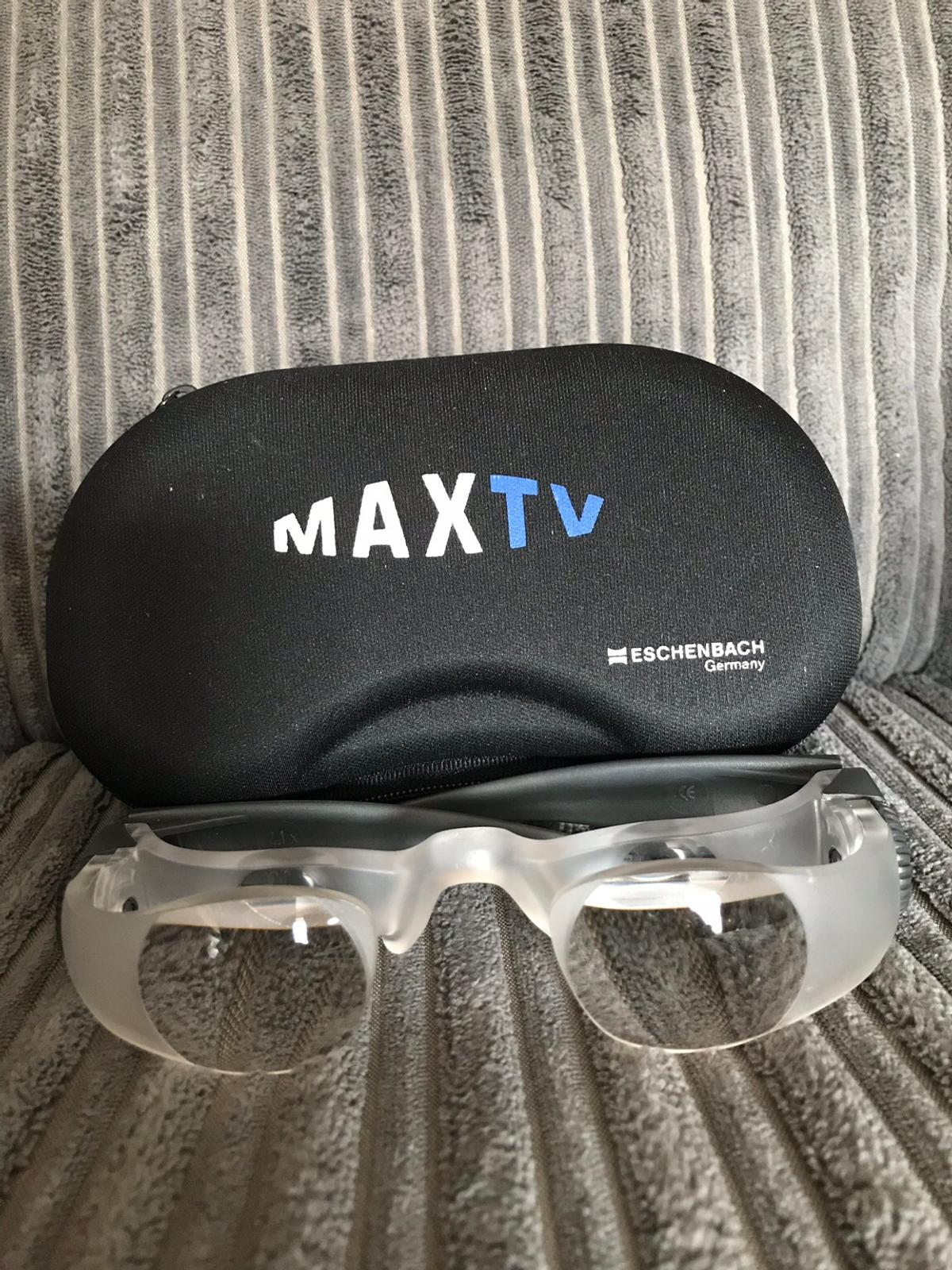 Max Tv Glasses Low Vision Aid Magnifying Glasses
