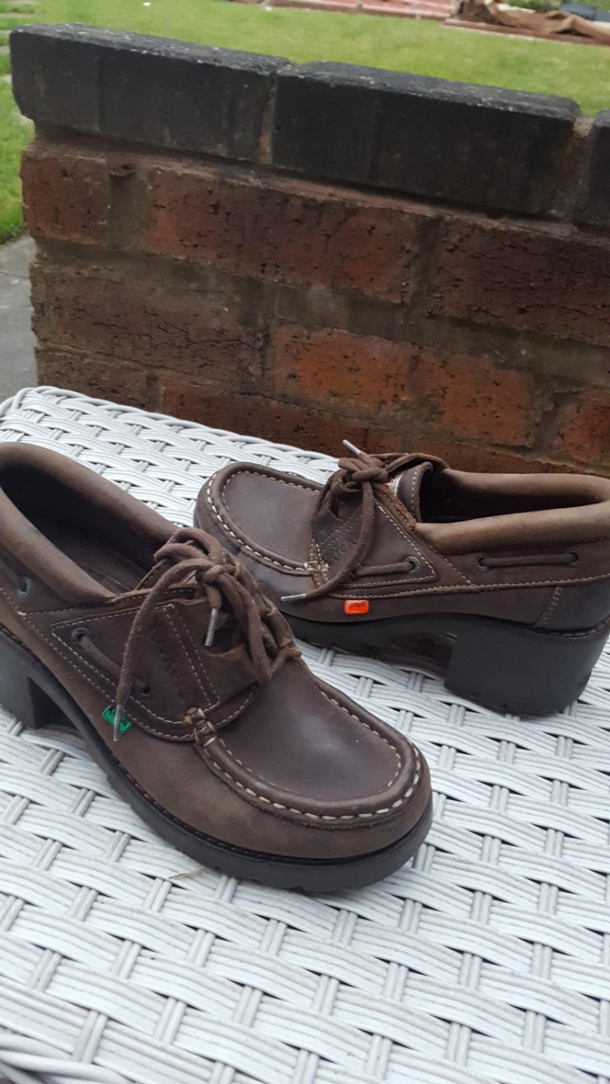Vintage Retro Ladies Kickers Shoes Size 6 In B43 Sandwell For 25 00 For Sale Shpock