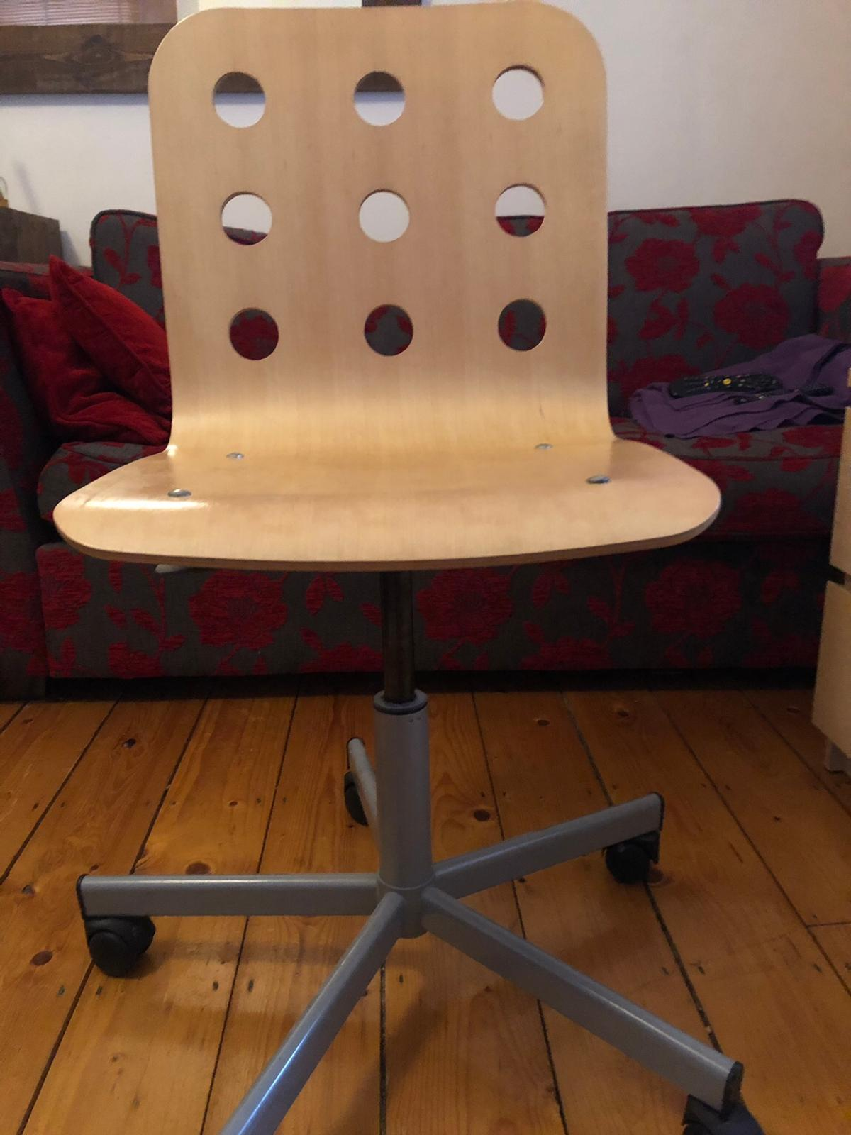Wondrous Oak Office Chair Squirreltailoven Fun Painted Chair Ideas Images Squirreltailovenorg