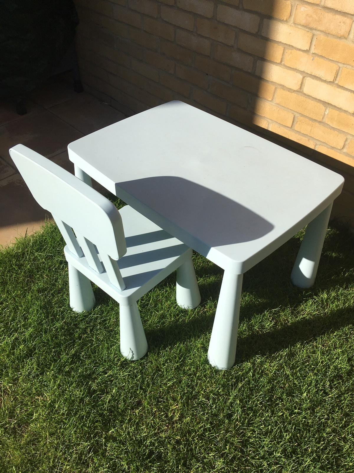 Kids Table And Chair Ikea In Cm1 Chelmsford For 10 00 For Sale Shpock