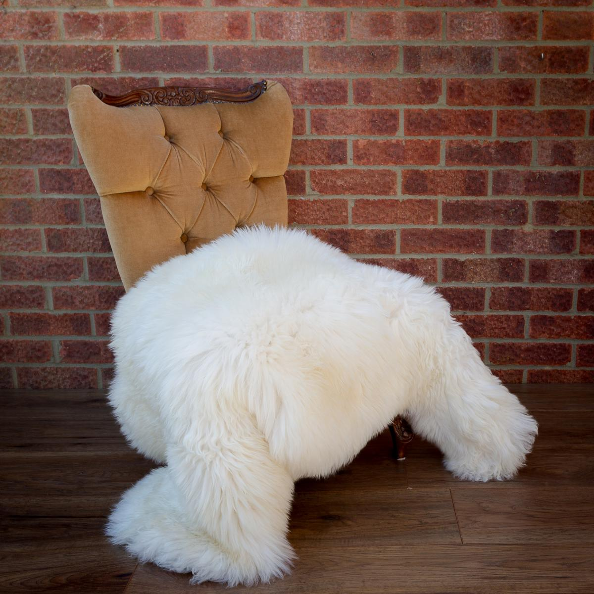 Sheepskin Rug 100-110cm long. Free
