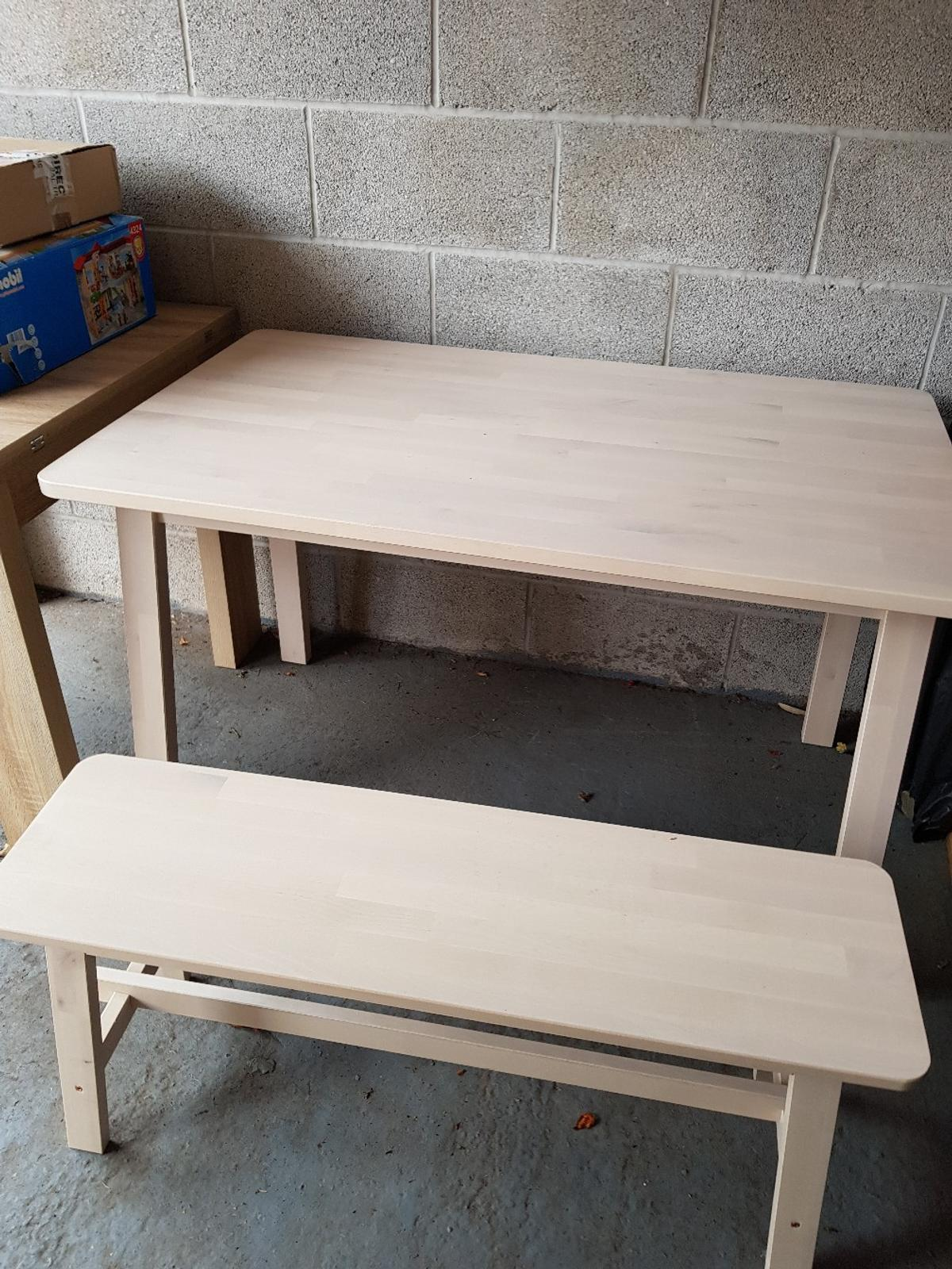 Ikea Norraker Table And Benches In