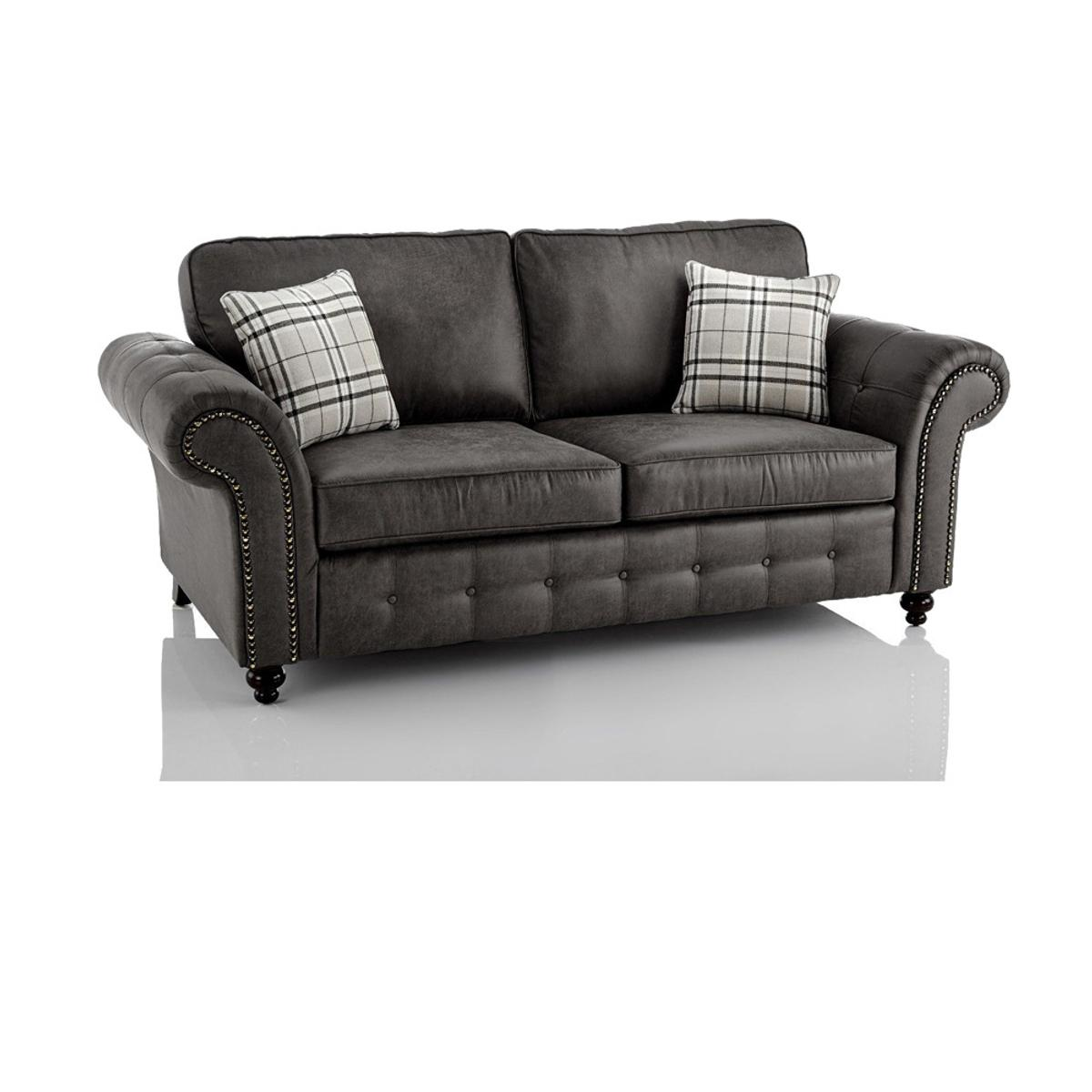 Oakland 3 Seater Sofa Grey In Wr1 1pb