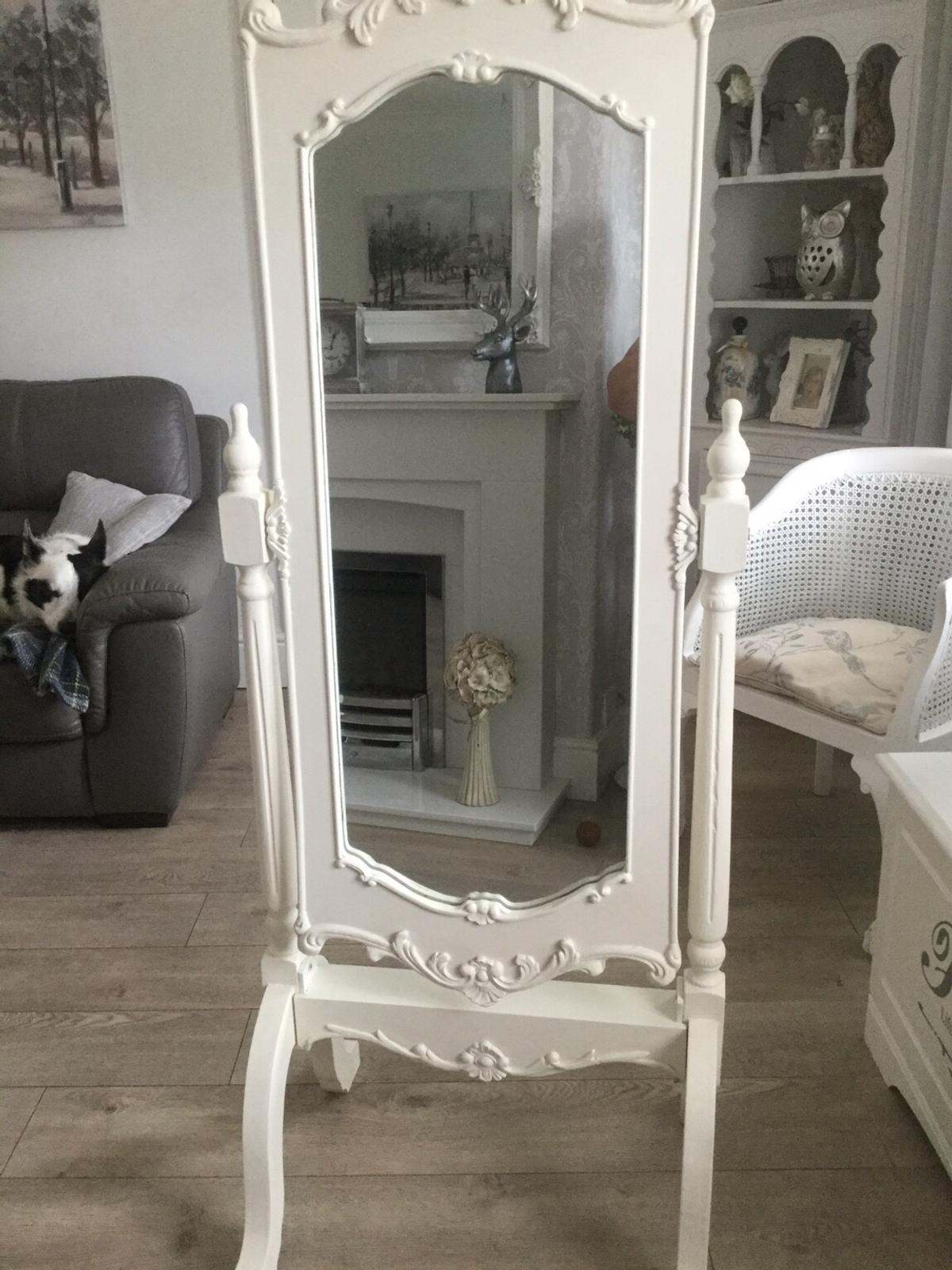 French Shabby Chic Style Mirror In Wa6 Frodsham For 60 00