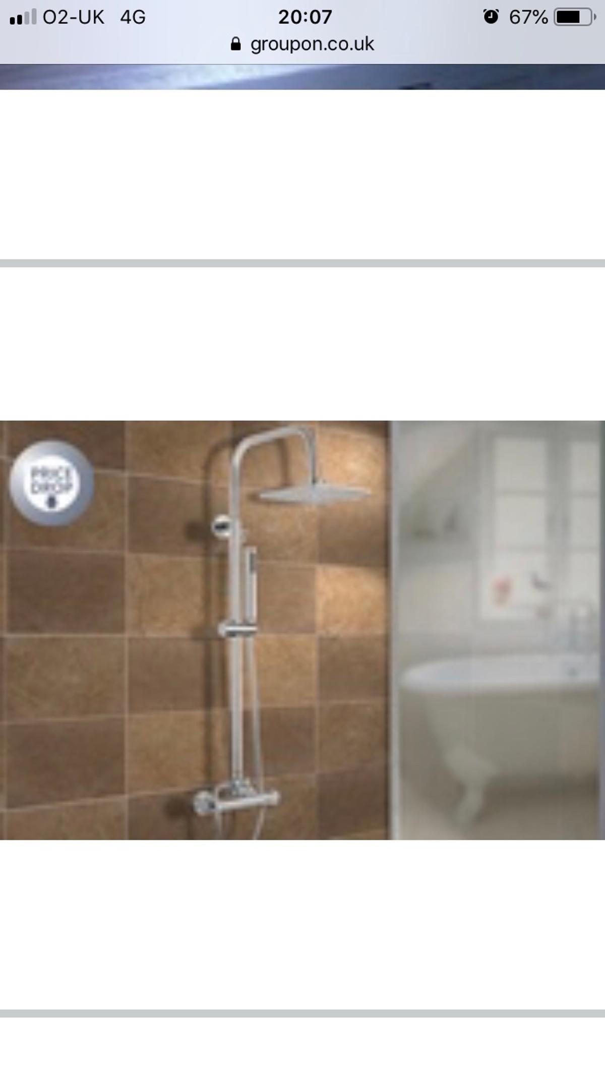 Thermostatic Mixer Shower With Square Head