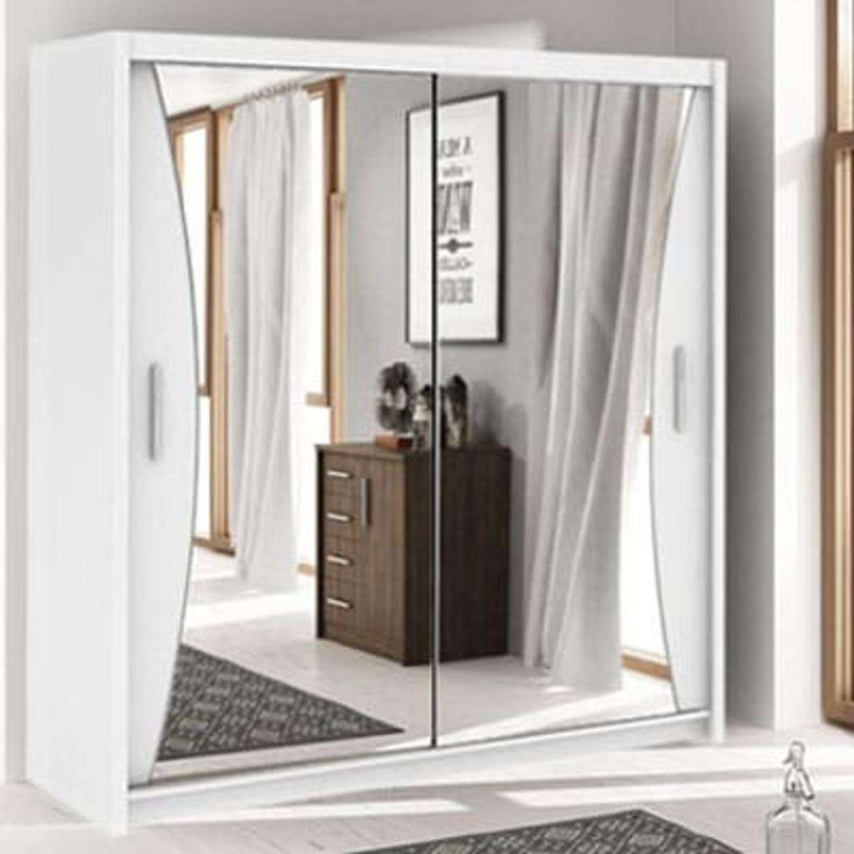 California 2 Sliding Mirror Door Wardrobe In E1 0ae London For 249 00 For Sale Shpock