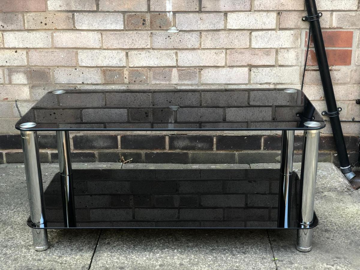 Black Glass Coffee Table In Wf16 Kirklees For 3000 For