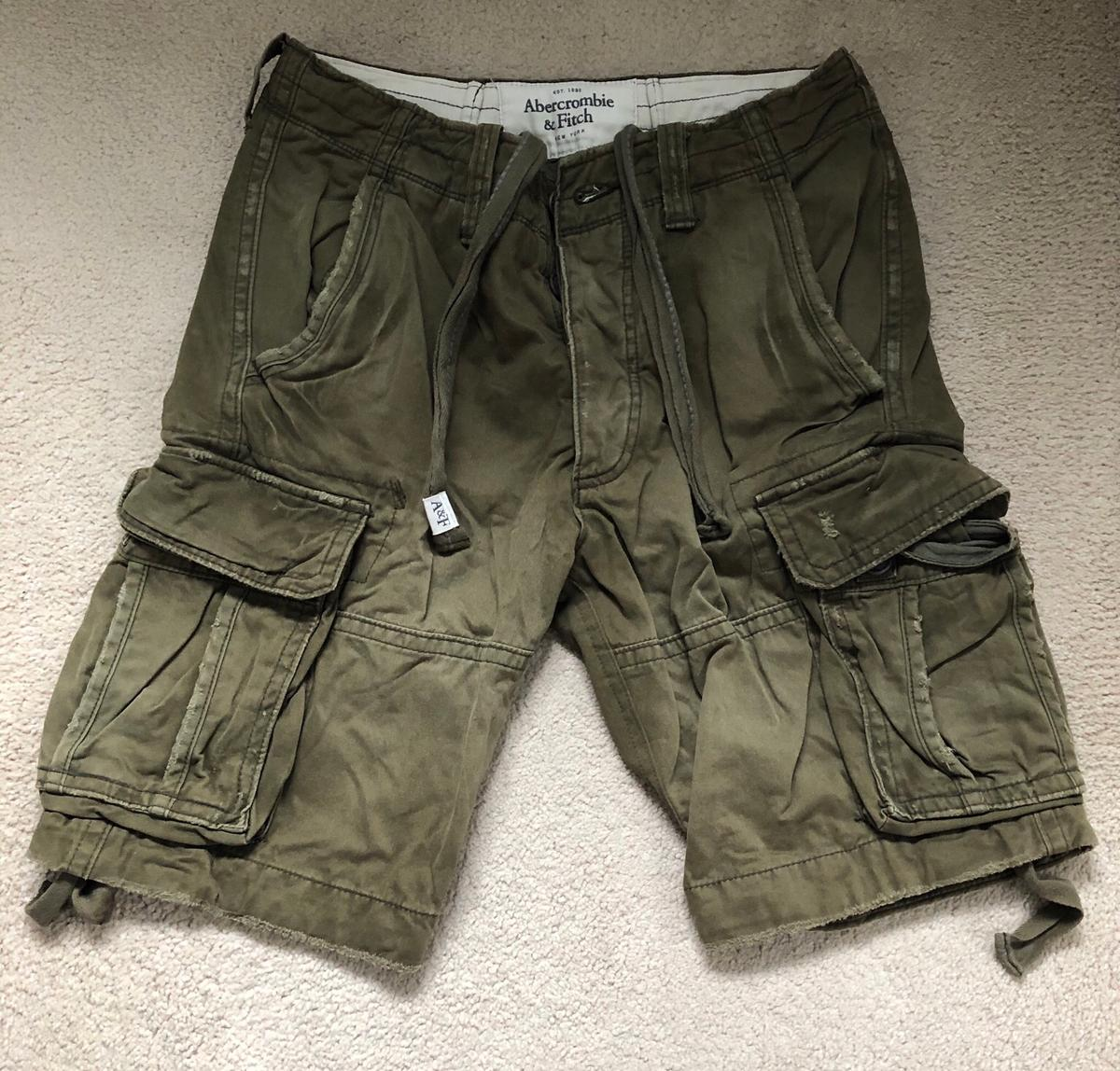 abercrombie and fitch cargo pants