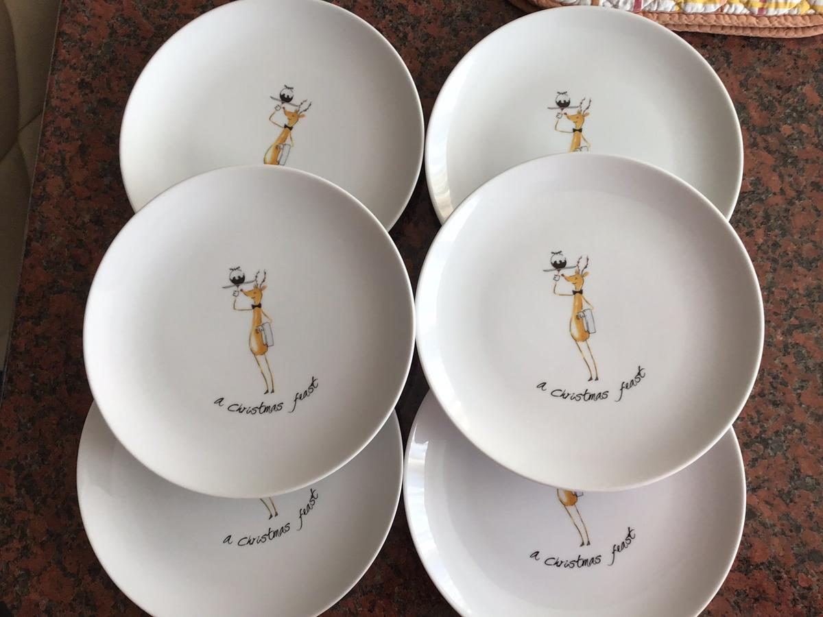 Christmas Platter Plates.Christmas Serving Dishes Plates In Me5 Chatham For 50 00