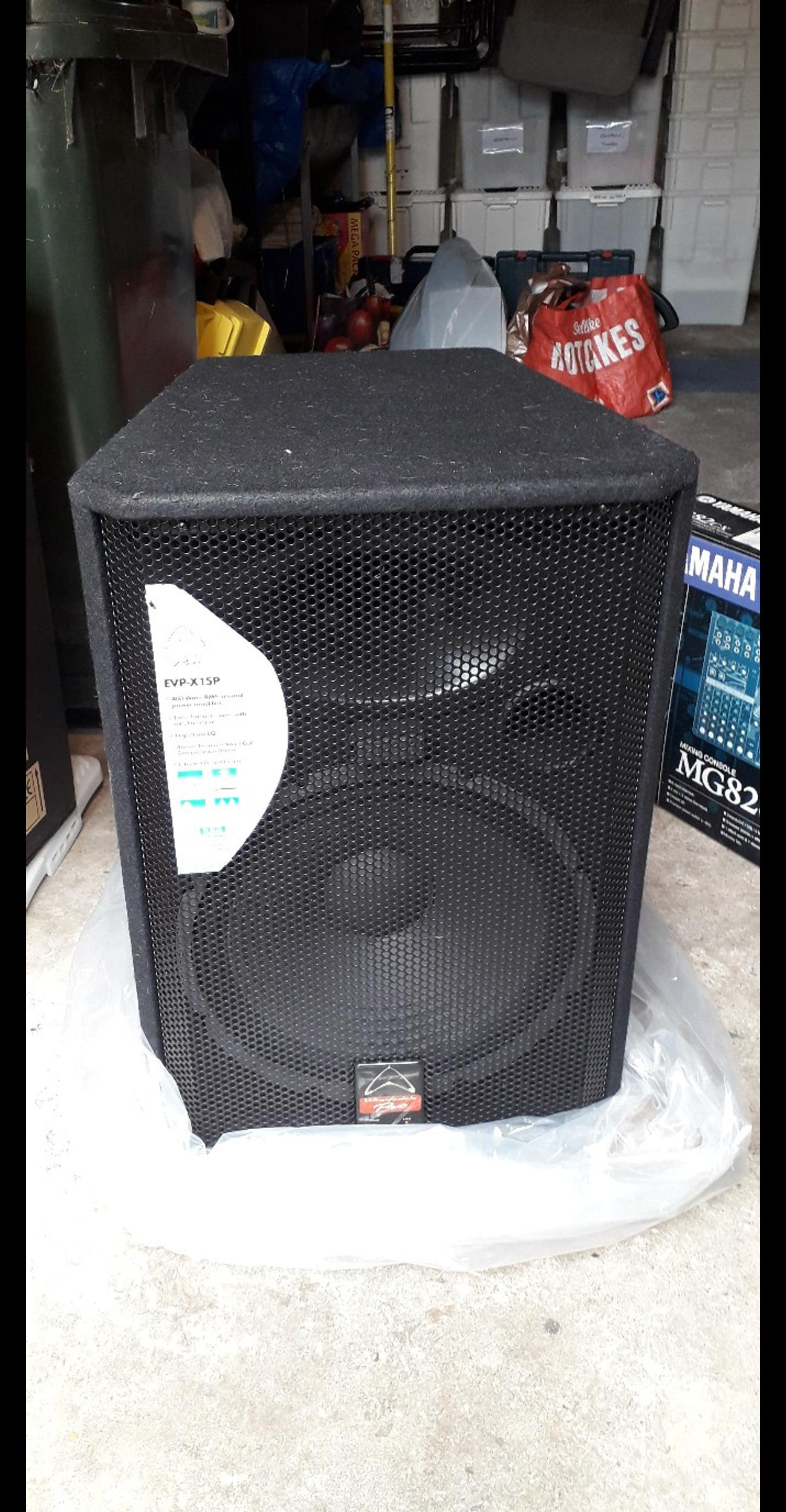 WHAREDALE PRO EVP-X15P PA SPEAKERS in TS6 Lackenby for