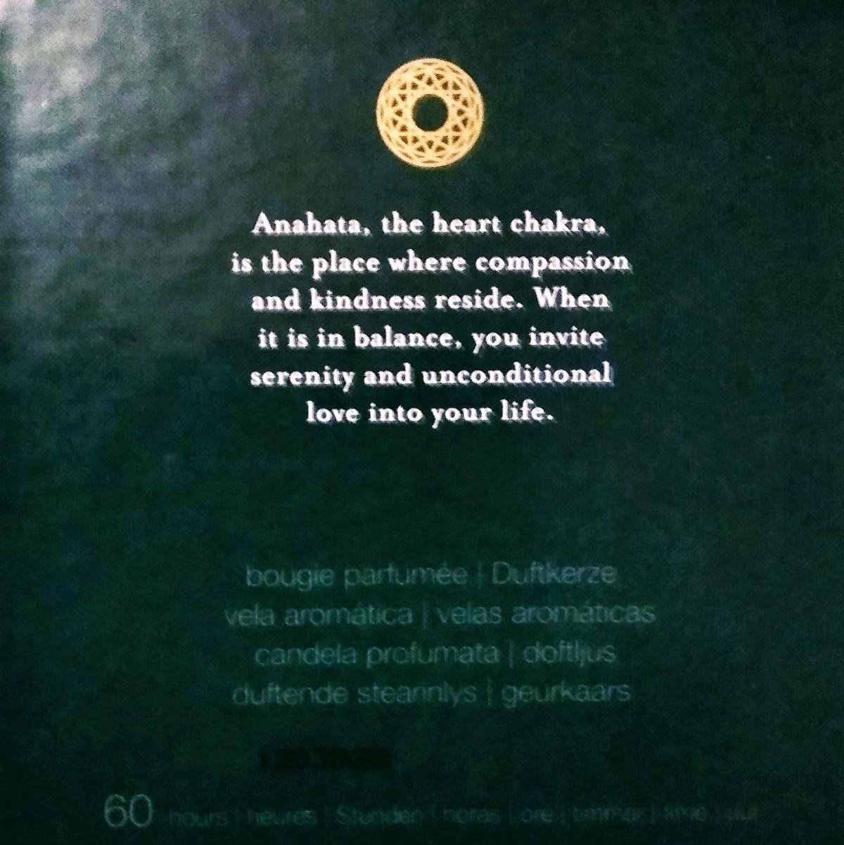 The Ritual of Anahata Candle by Rituals® in SW9 London for