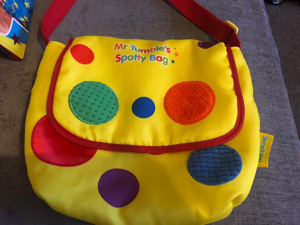 Mr Tumble 1163 Surprise Spotty Bag