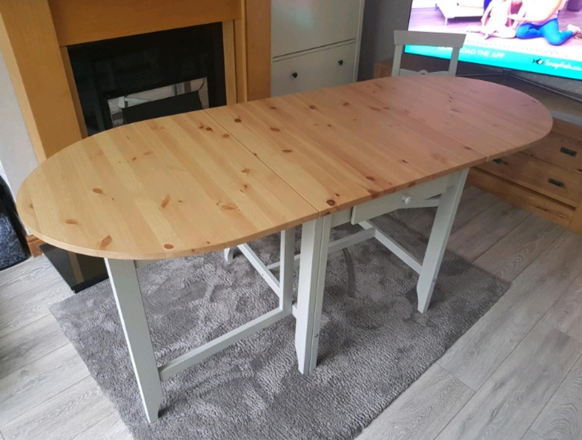 IKEA Gamleby Extendable Dining Table