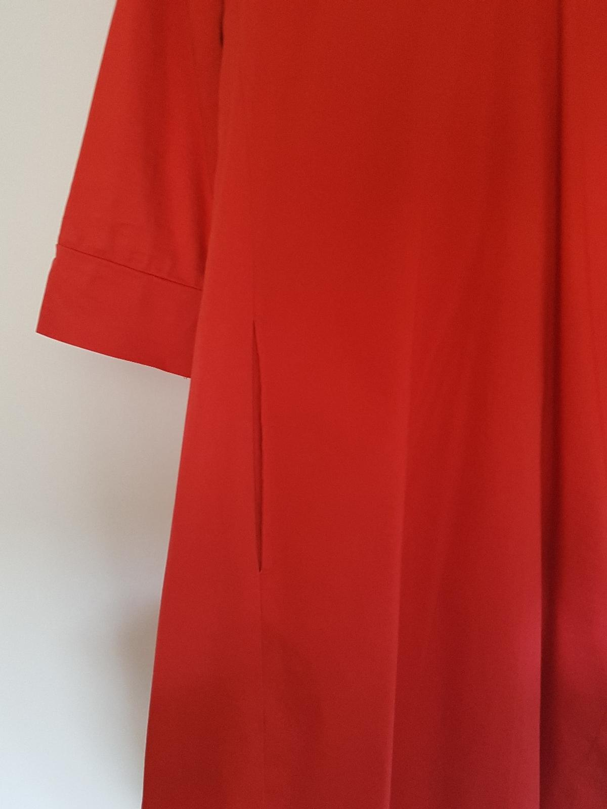 damen kleid maritim rot staccato about you in 33719