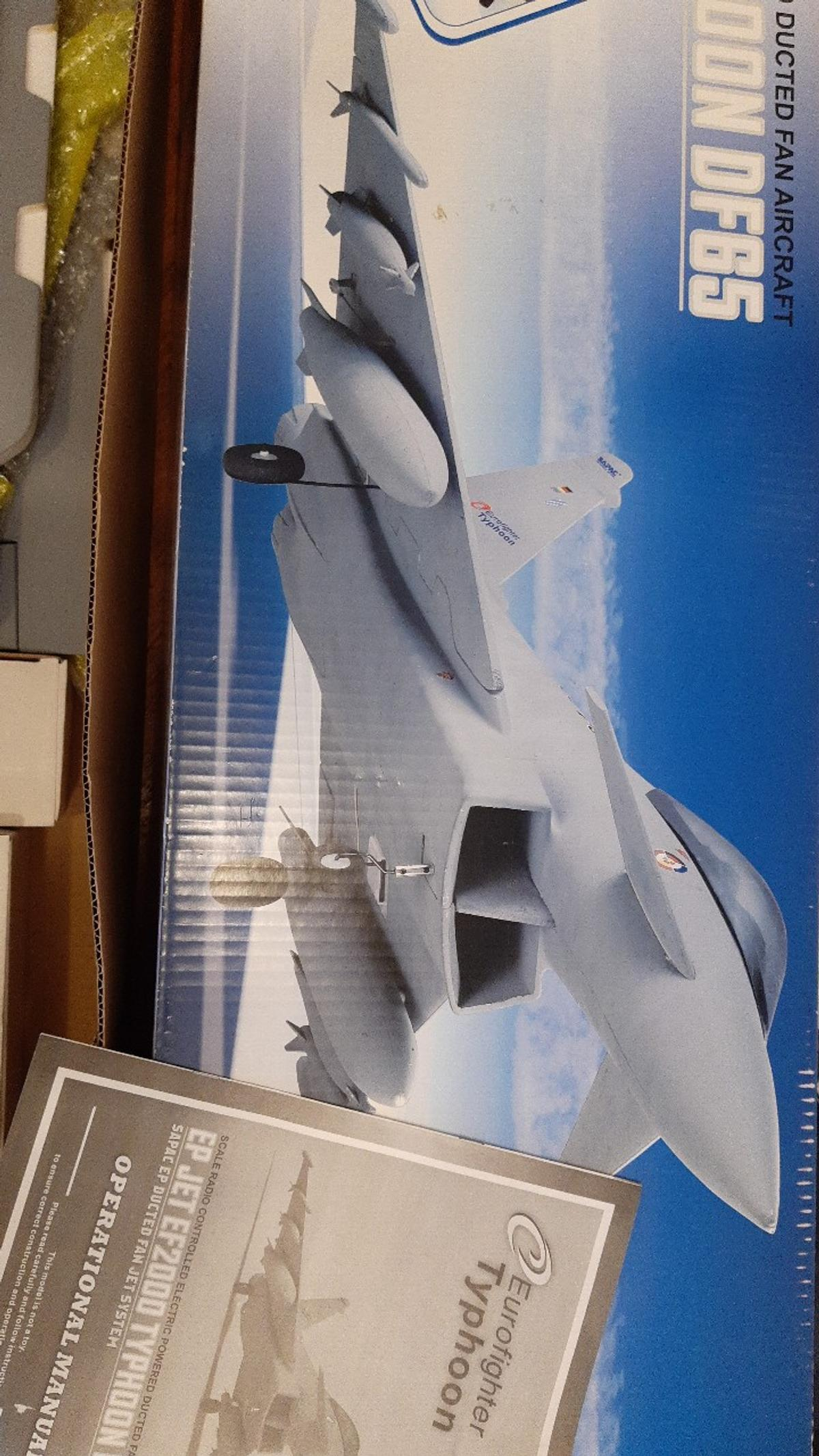 RC EP EF2000 TYPHOON DF65 in SE20 Bromley for £75 00 for