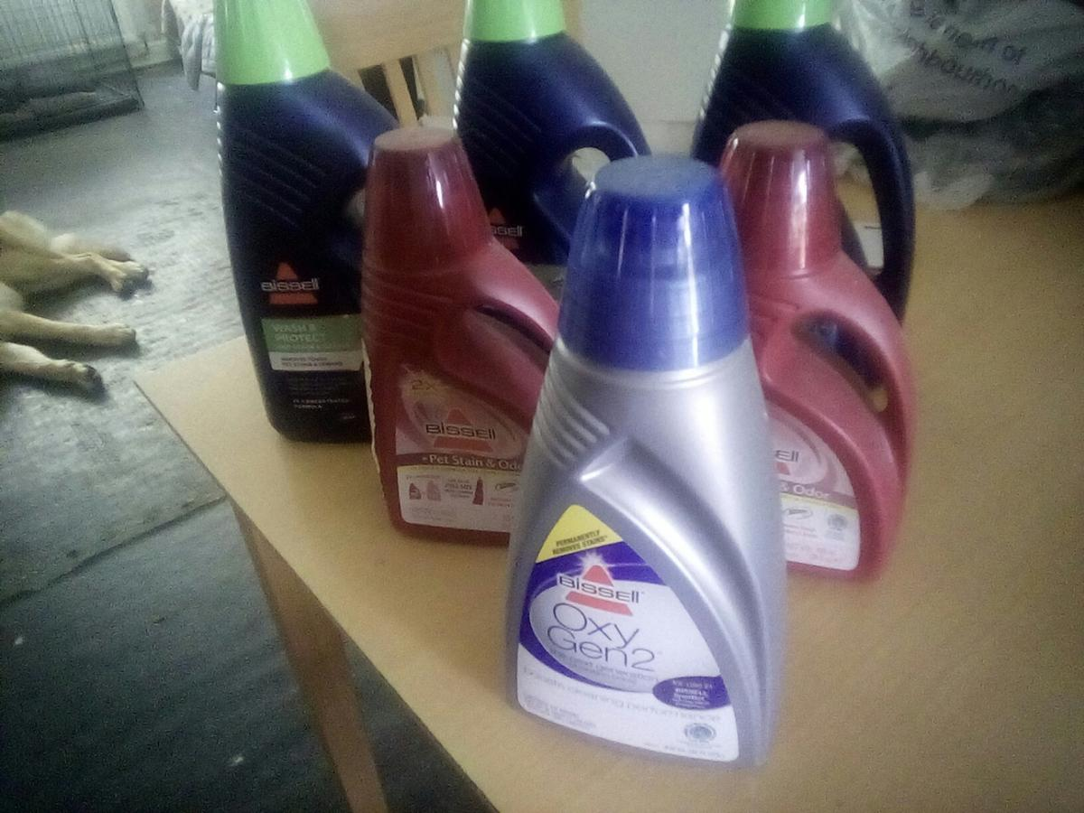 Bissell Carpet Cleaning Solutions X 6 Bottles
