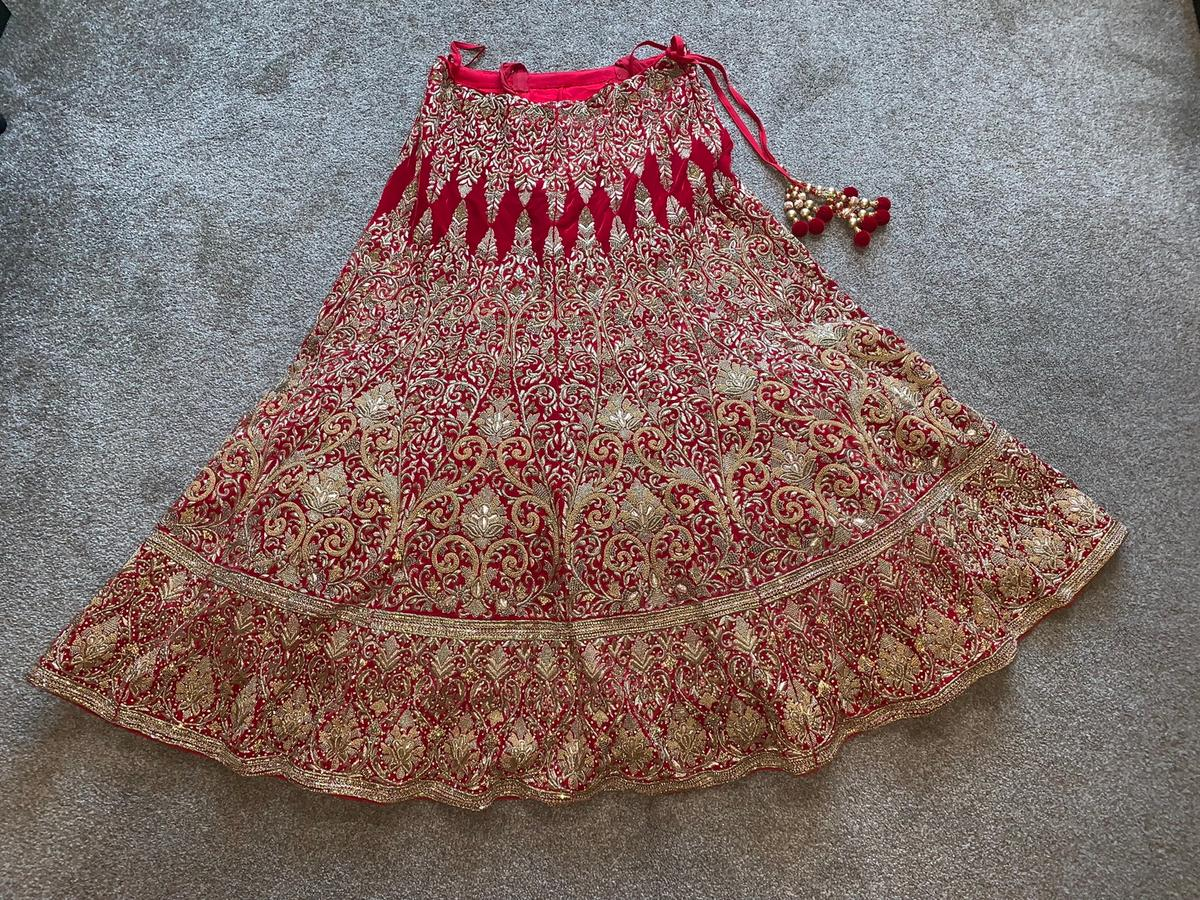 Indian Bridal Lengha In B74 Walsall For 800 00 For Sale Shpock