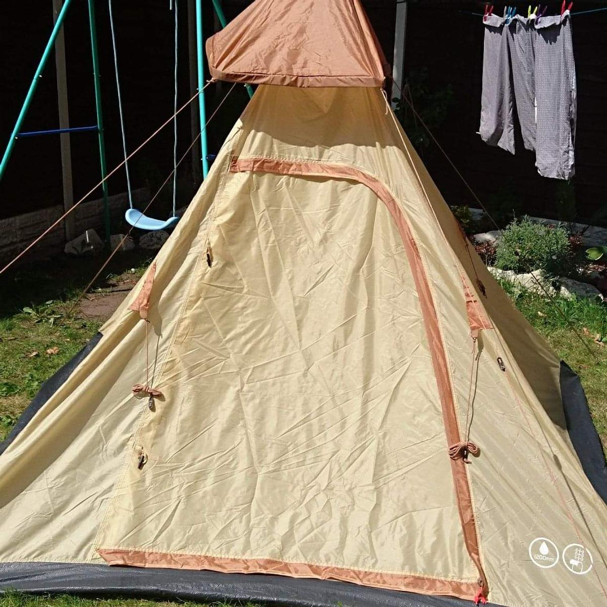 los angeles 9cbdd 114fc tesco 4 person Teepee tent brand new