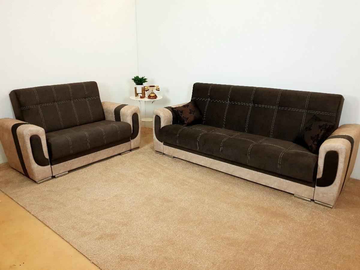 Astounding Dark Brown Brown Sofa Bed Set In Ng8 6Db Nottingham For Theyellowbook Wood Chair Design Ideas Theyellowbookinfo