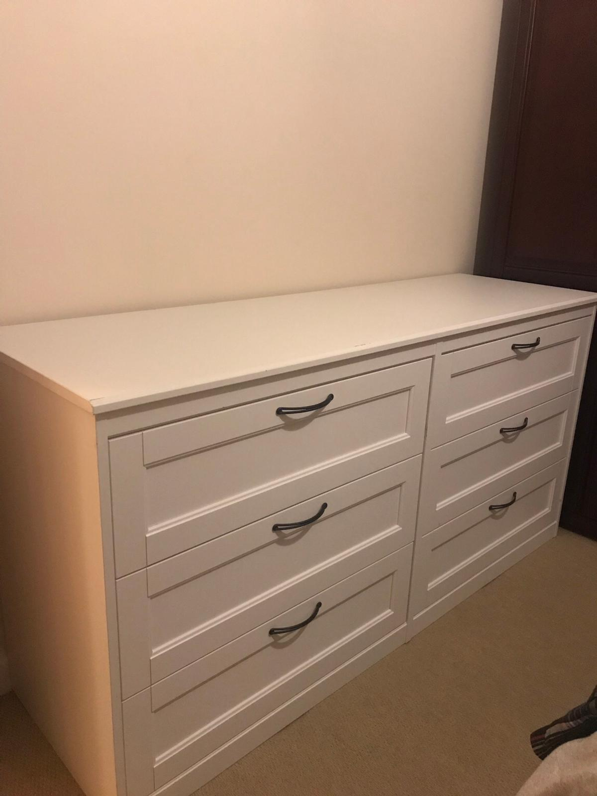 new product f73e3 9eb43 Ikea Songesand Double Chest of Drawers