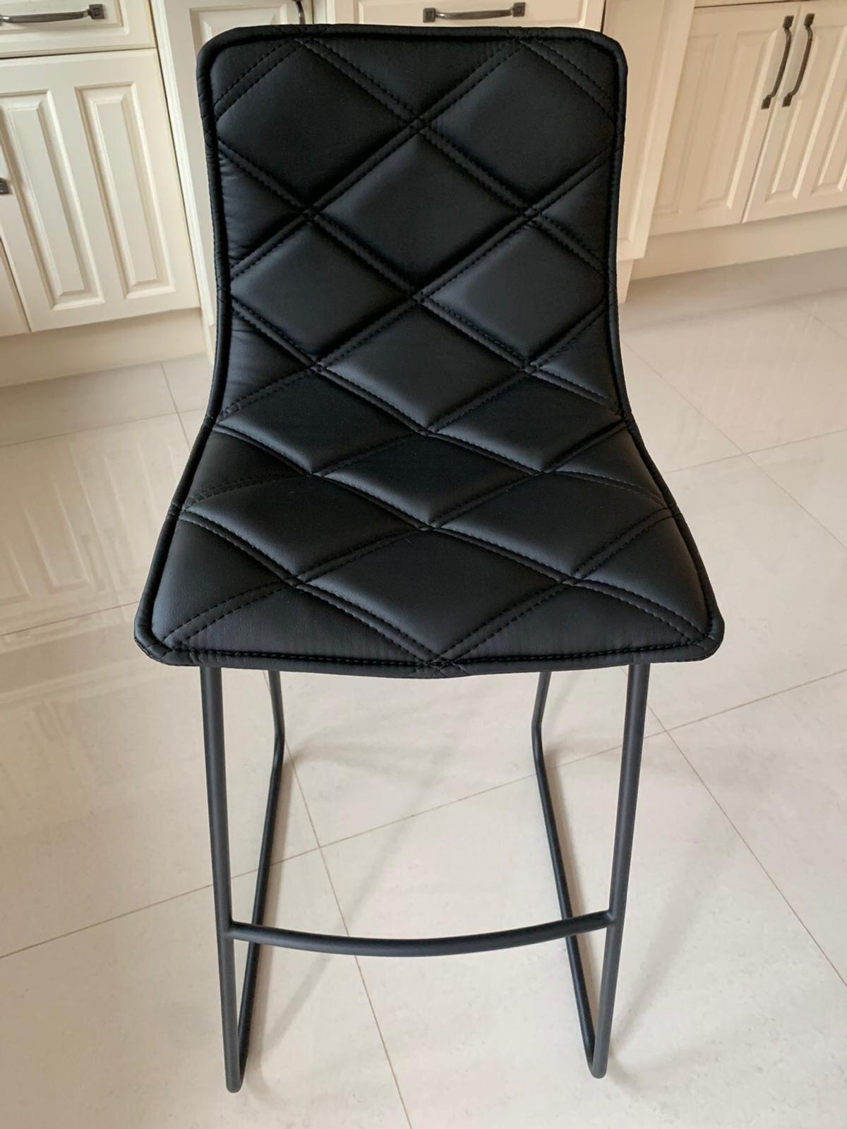 Magnificent Dwell Portela Bar Stools Caraccident5 Cool Chair Designs And Ideas Caraccident5Info