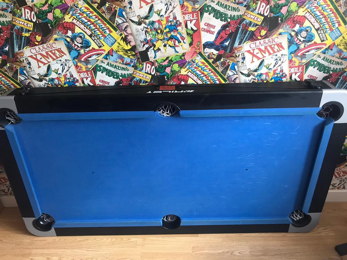 - Riley 5ft Folding Pool Table In WS10 Walsall For £60.00 For Sale