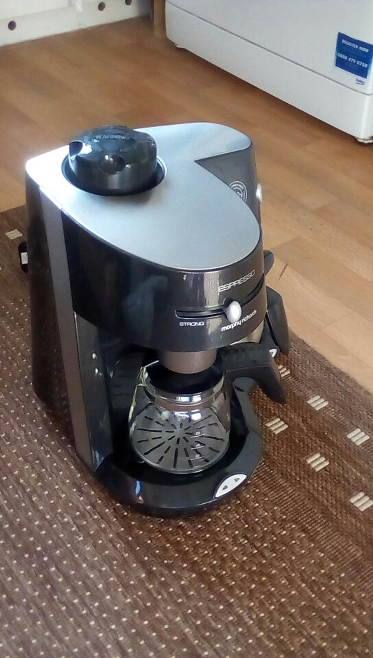 Morphy Richards Espresso Coffee Maker In Tn34 Hastings For