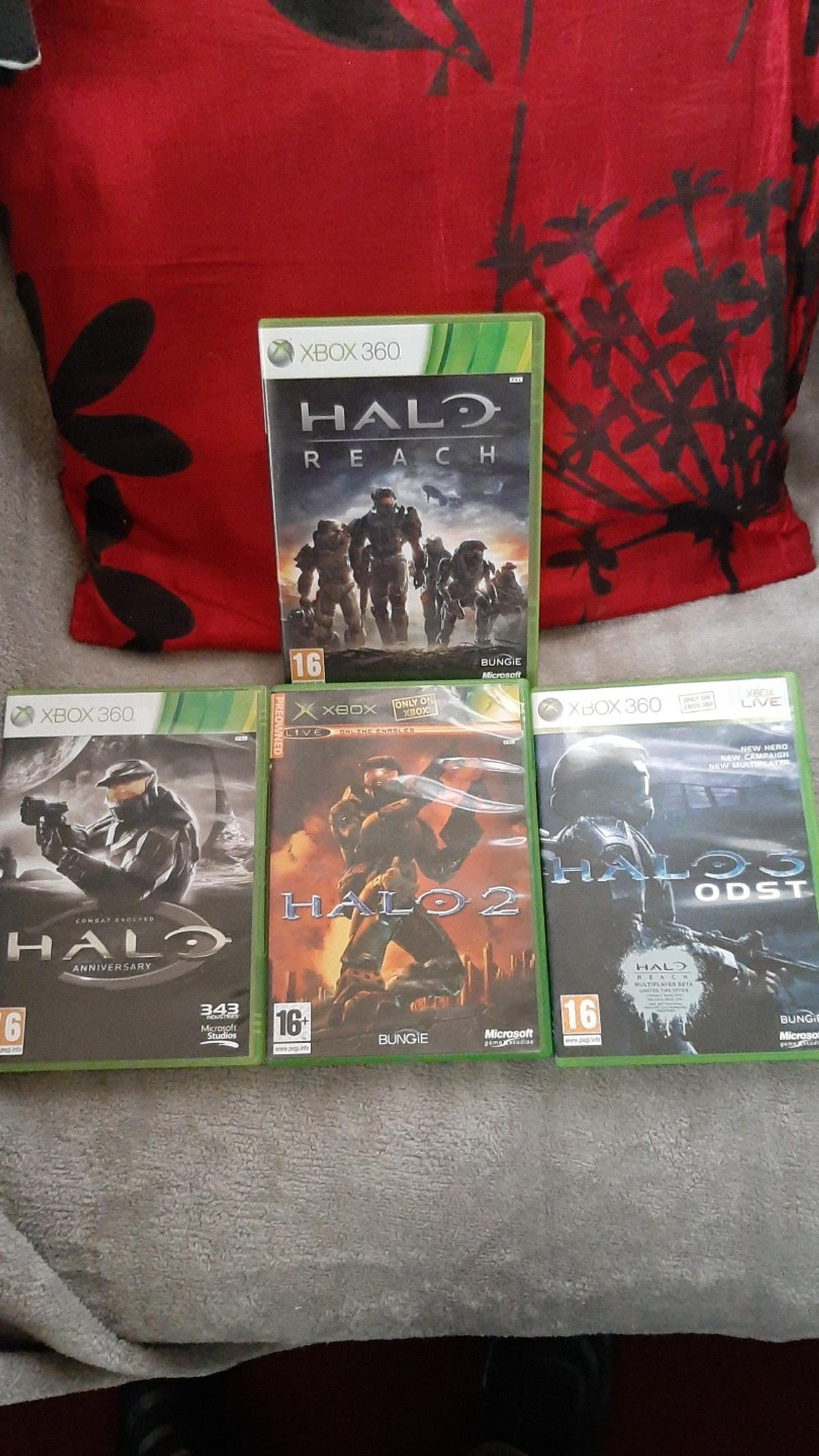 halo games xbox 360   in NG8 Nottingham for £10 00 for sale