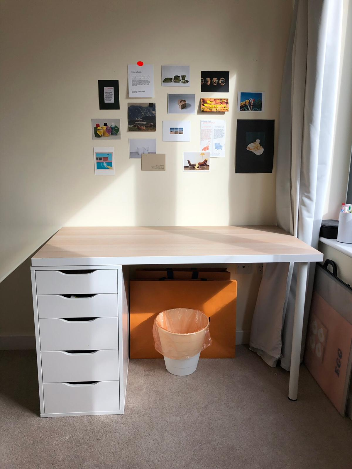 IKEA ALEXLINNMON table Can be placed
