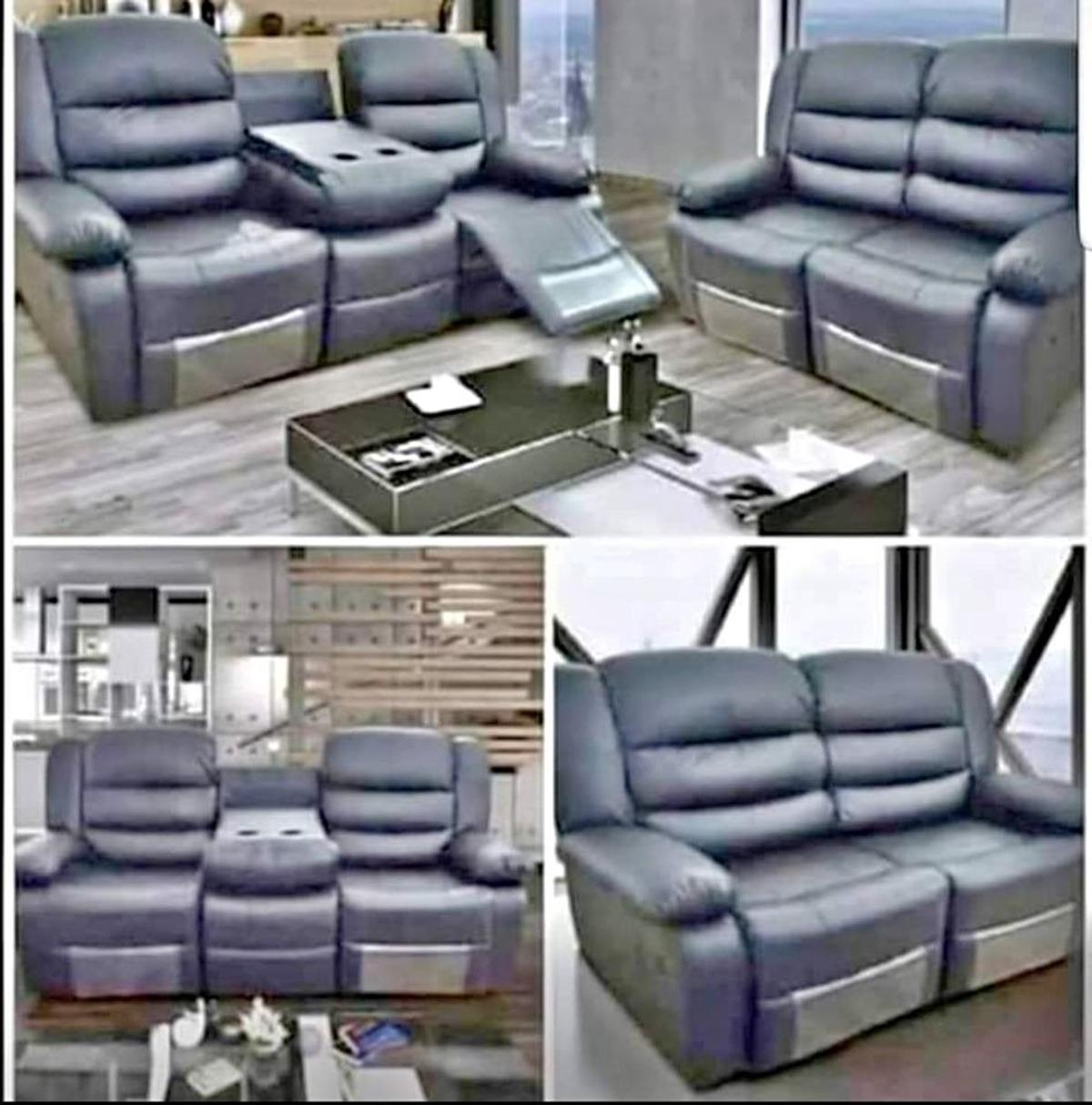 Astonishing Recliner Sofa Free Delivery Pabps2019 Chair Design Images Pabps2019Com