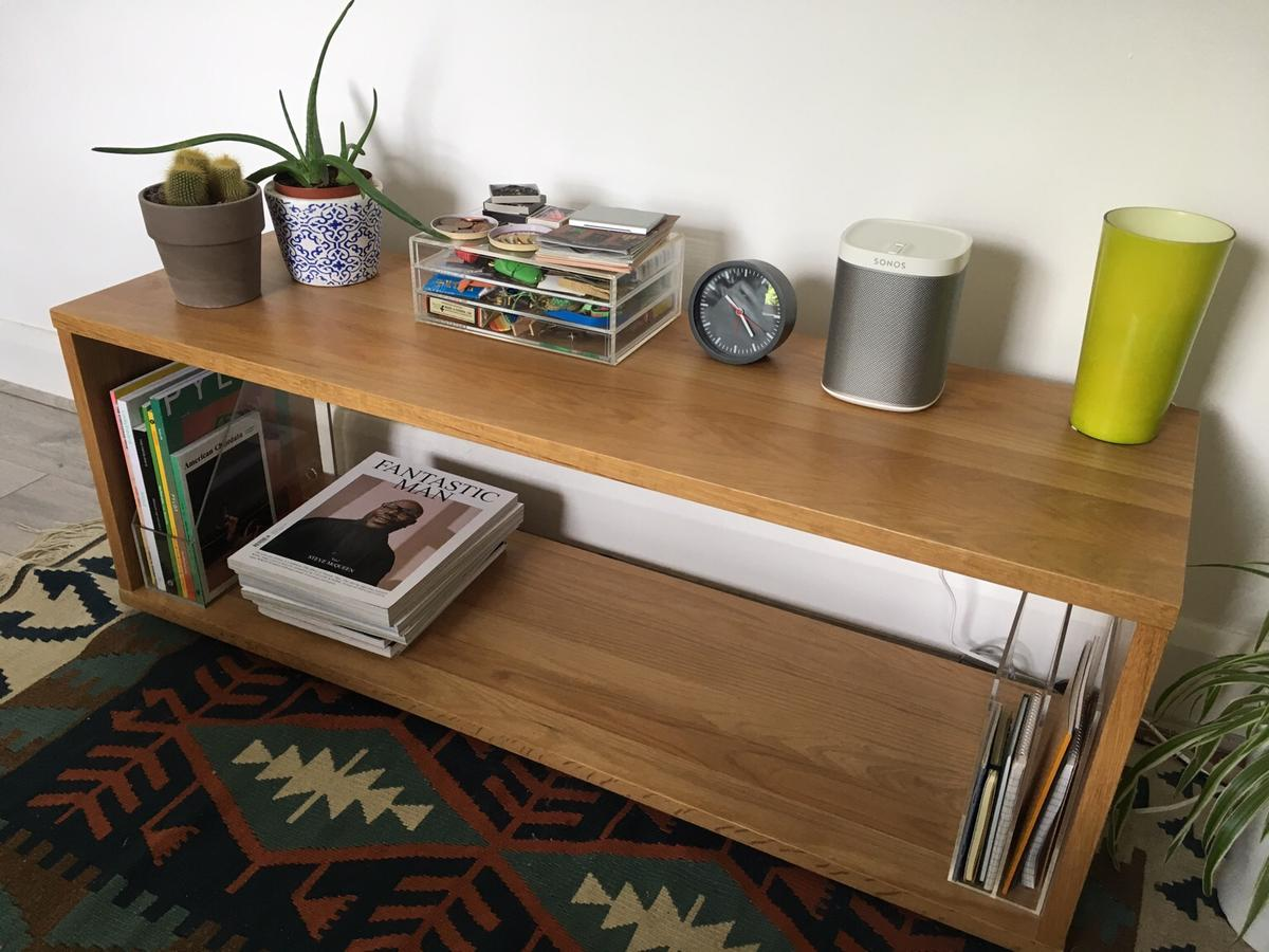 Tremendous Muji Oak Bench Sideboard In Sw9 Lambeth For 100 00 For Sale Creativecarmelina Interior Chair Design Creativecarmelinacom