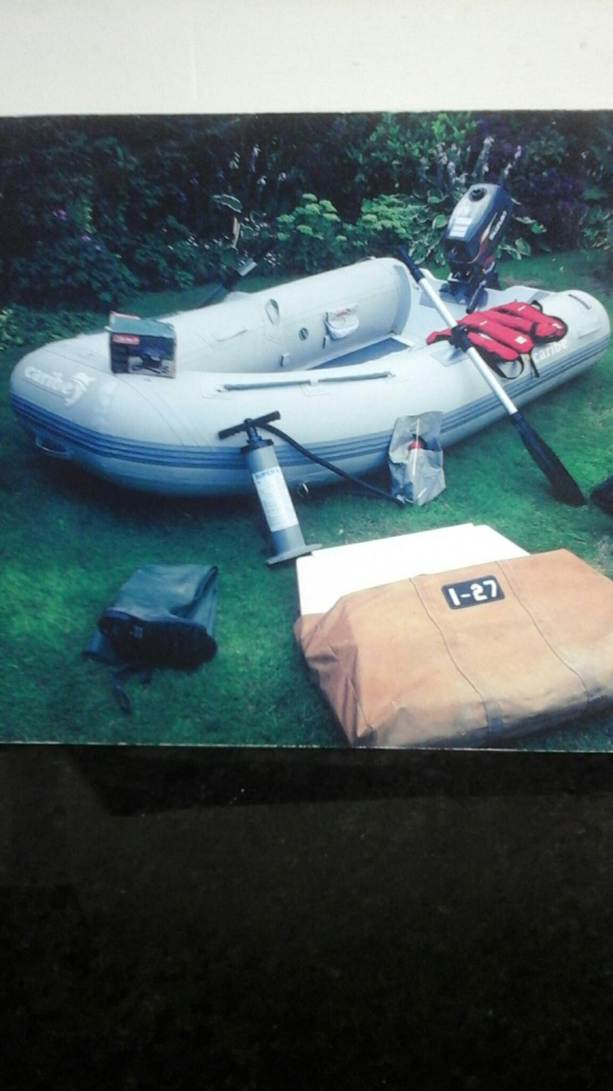 INFLATABLE 4 MAN DINGHY
