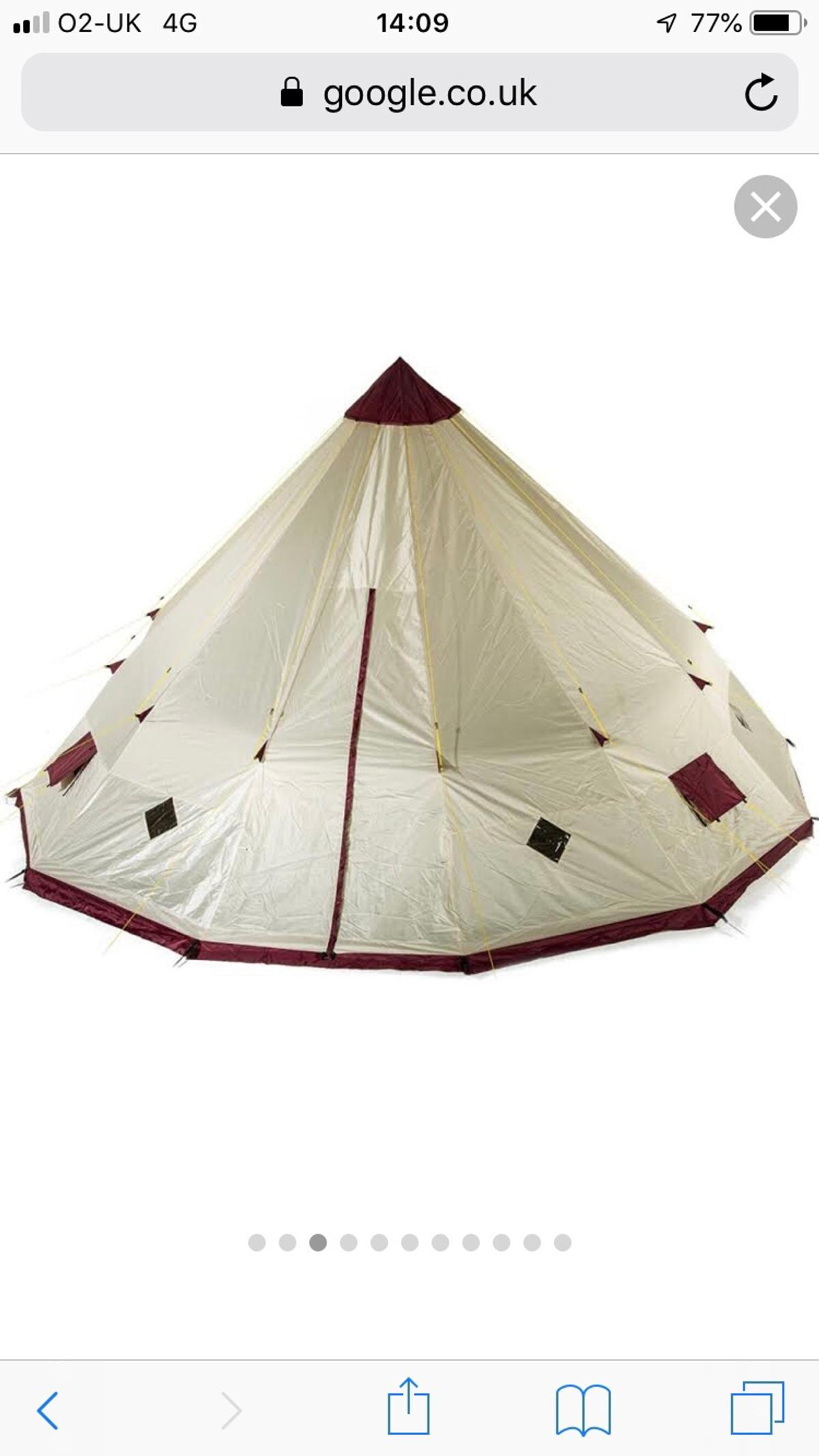 detailed look f2a04 85926 12 man Teepee Tent