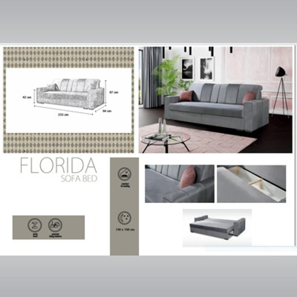 Awesome Florida Sofa Bed In M1 Manchester For 399 99 For Sale Shpock Onthecornerstone Fun Painted Chair Ideas Images Onthecornerstoneorg