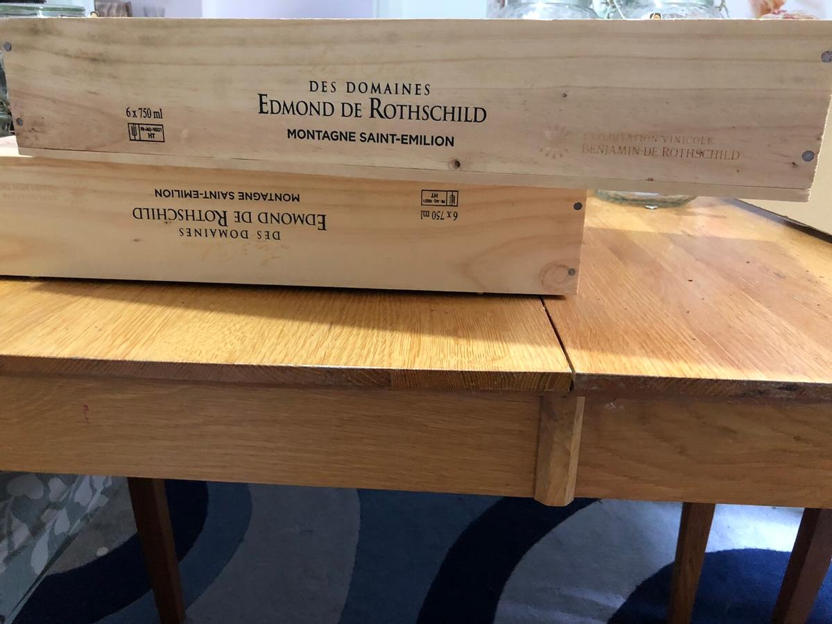 3x Wooden Wine Boxes 5
