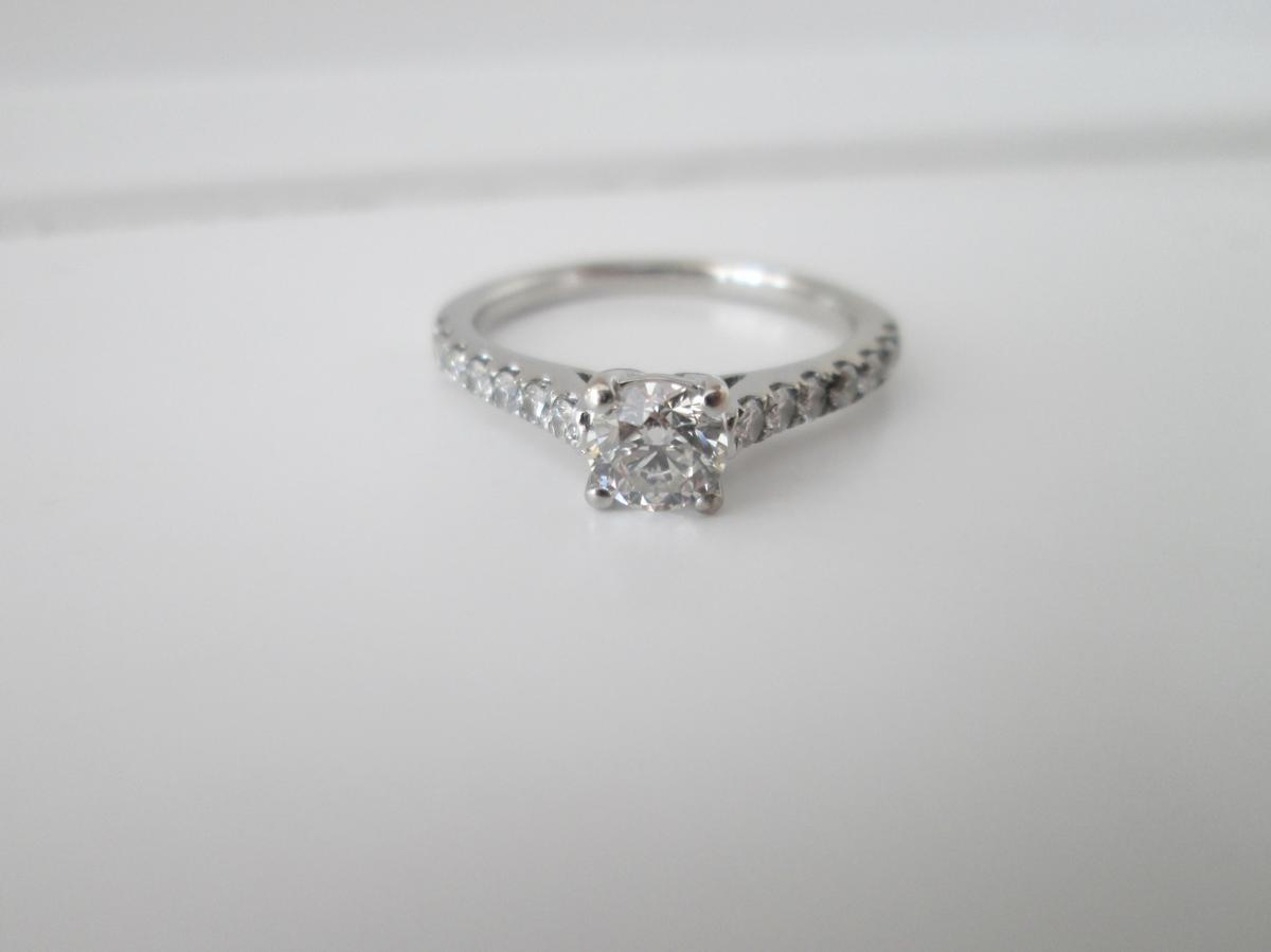 18ct White Gold 67ct Diamond Ring In Broughton For 650 00 For