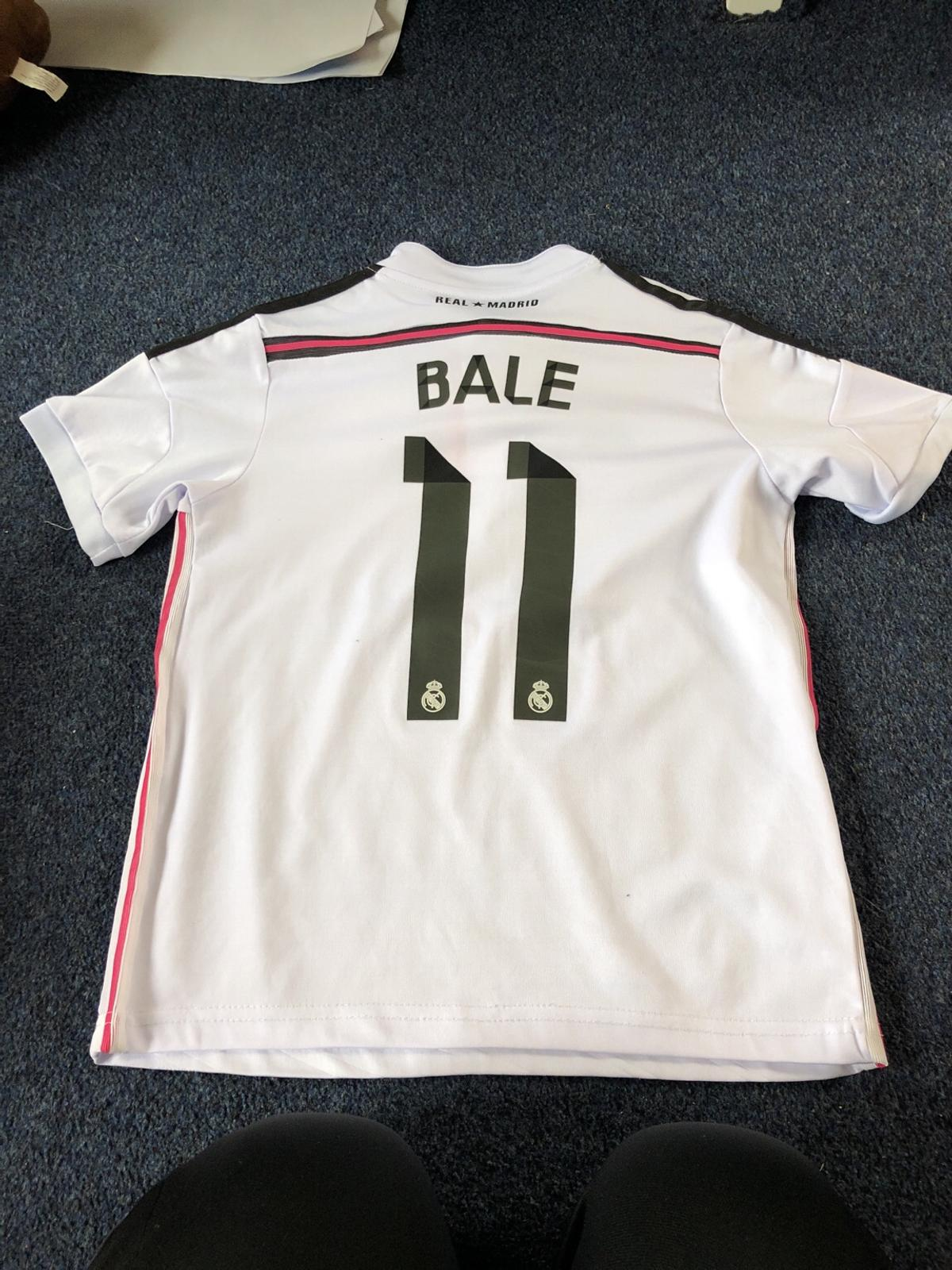 new styles 656a2 4ed45 Kids Real Madrid Bale top