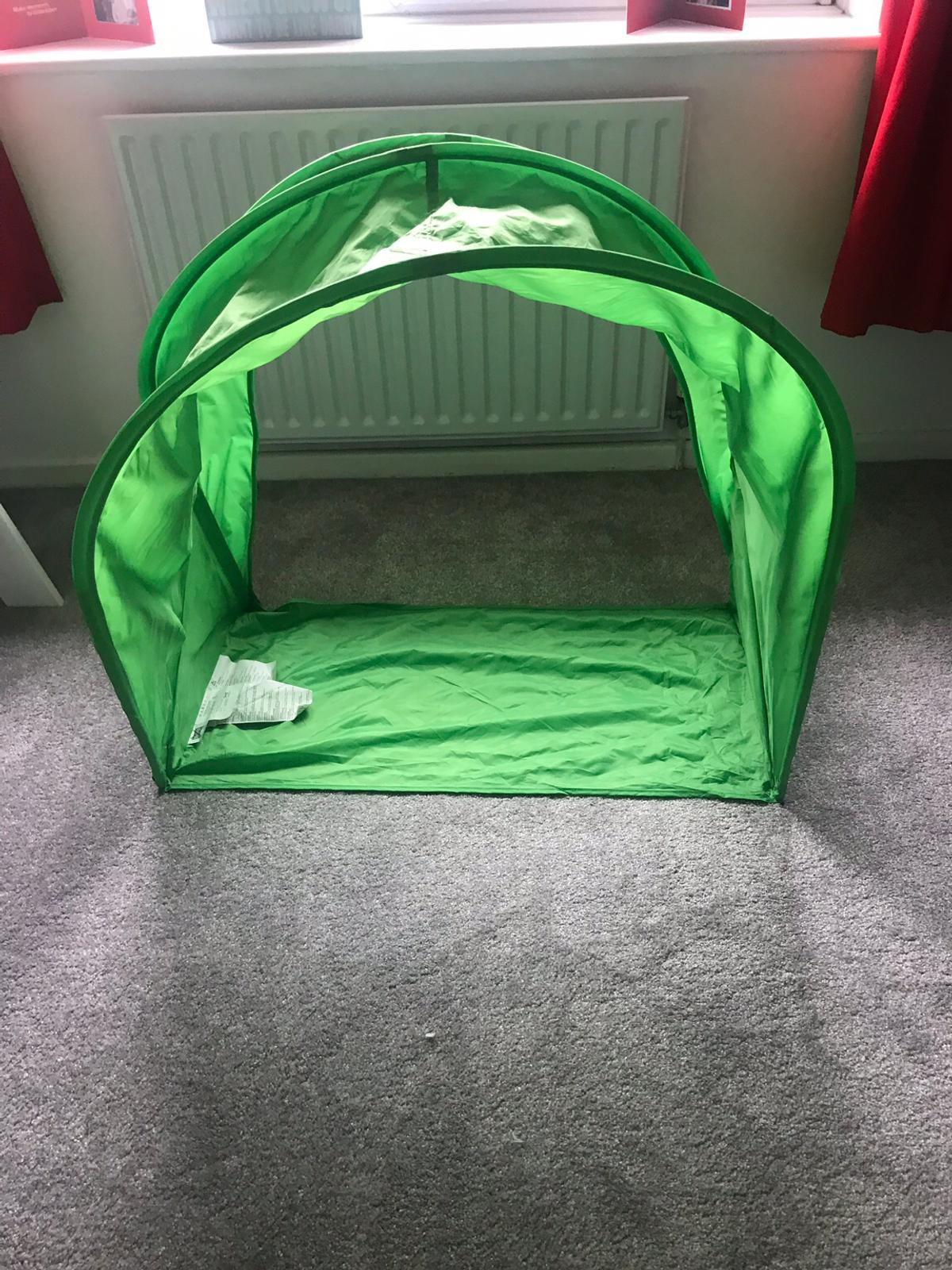 new styles 59461 6e35c Ikea Green Kids Bed Canopy/Tent