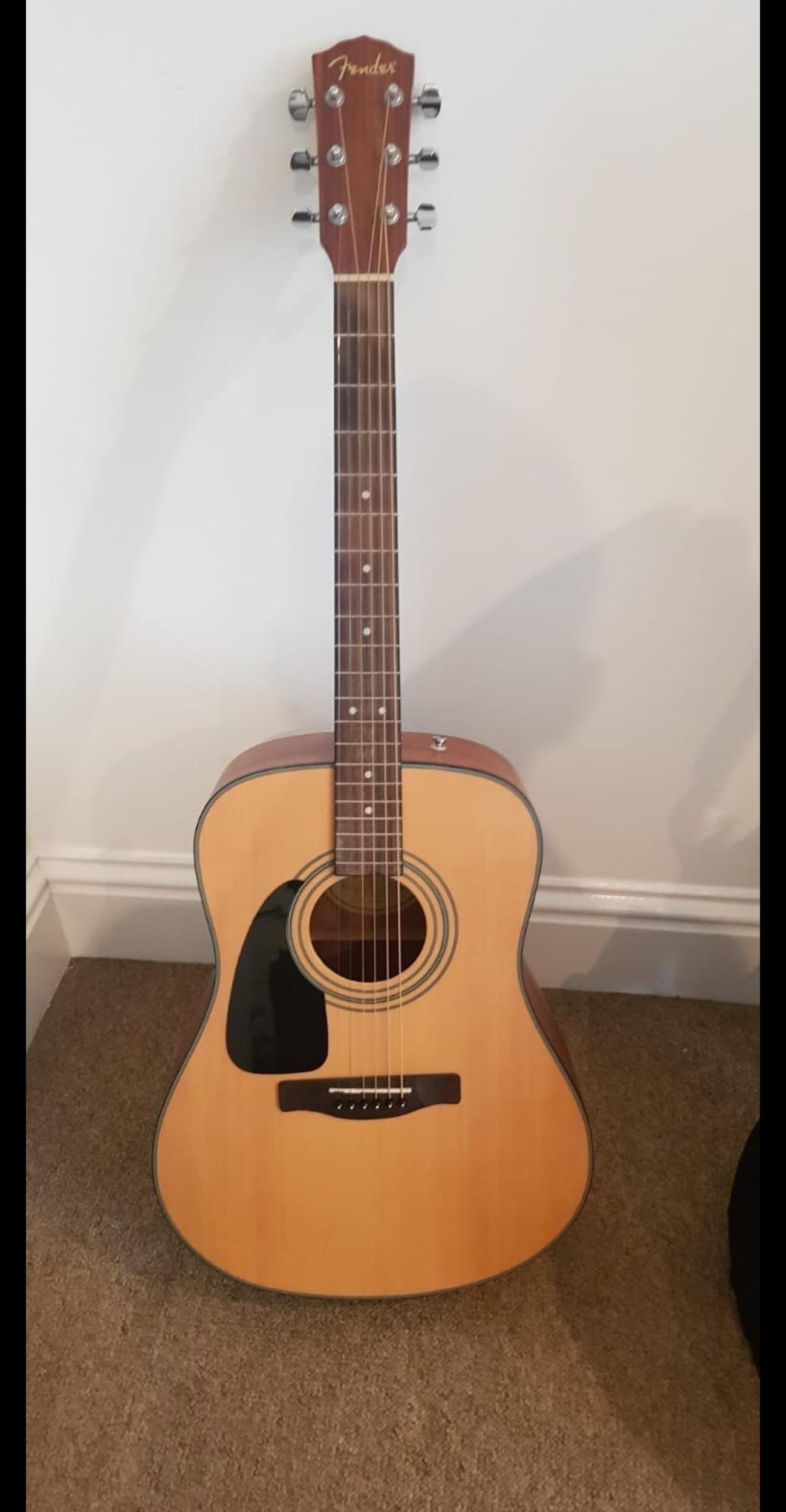 Fender Left Handed Acoustic Guitar