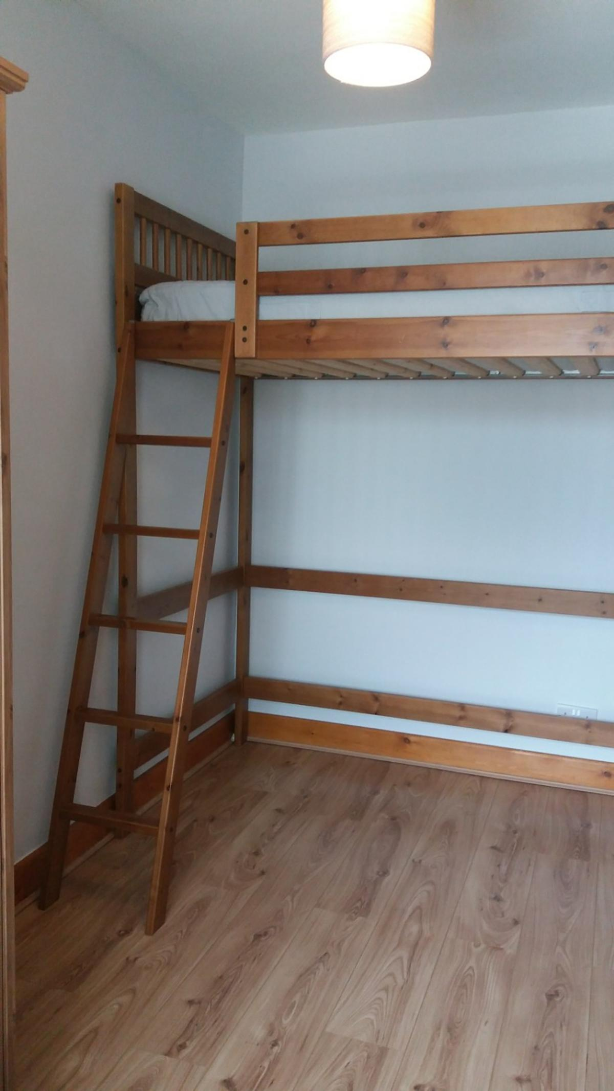 Wood High Sleeper Loft Bunk Bed Ikea Single In S65 Rotherham For 75 00 For Sale Shpock