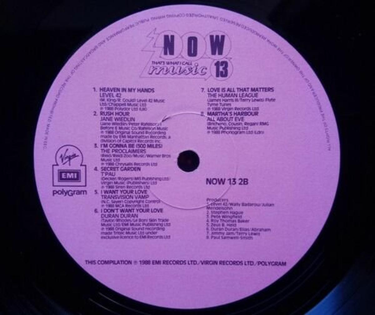 Now That's What I Call Music No 13 - Vinyl Re in RM16 Orsett