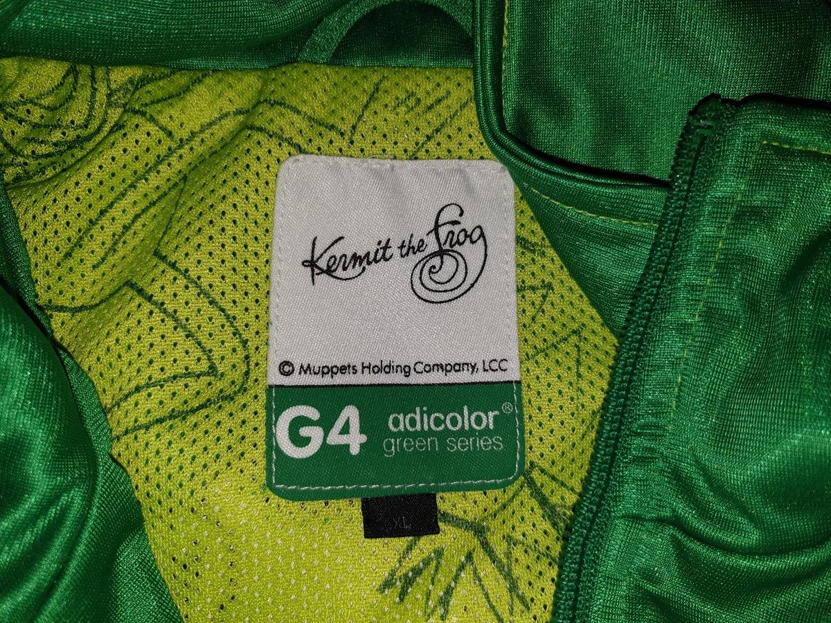 Rare ADIDAS ORIGINALS G4 Kermit The Frog XL in Elderslie für